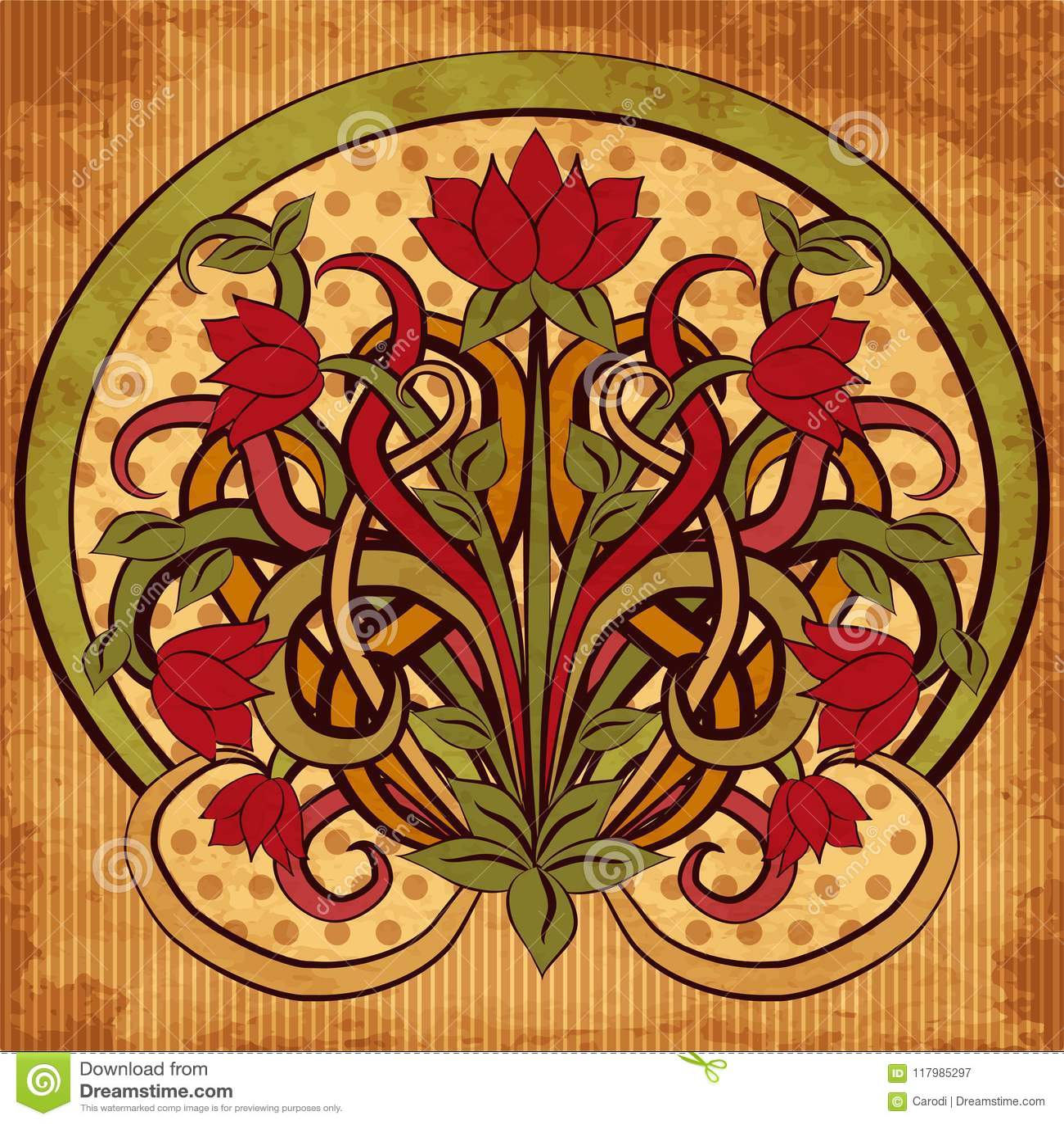 disegni liberty floreali