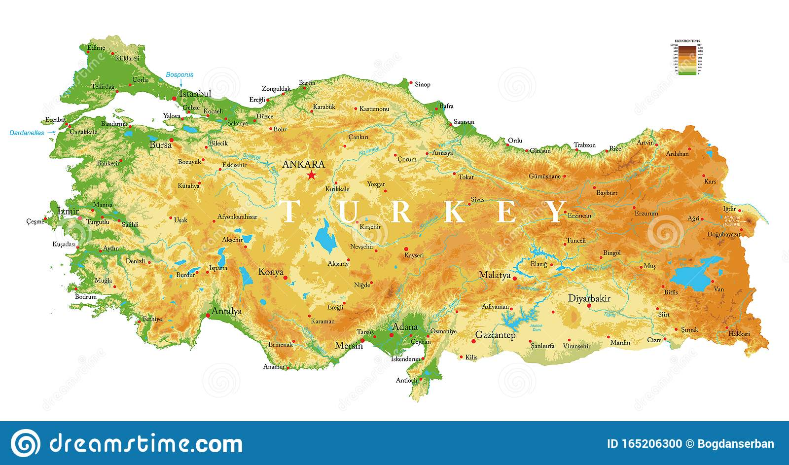 Gallipoli Cartina Geografica