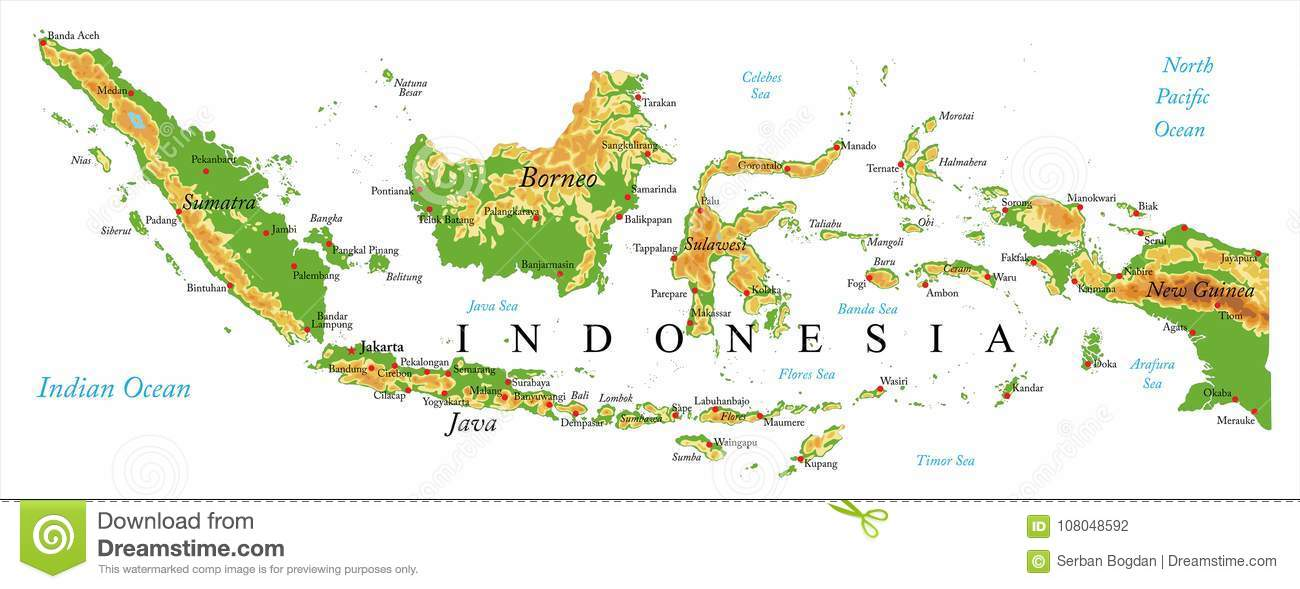 Cartina Geografica Dell Indonesia.Sud Est Asiatico Lessons Blendspace