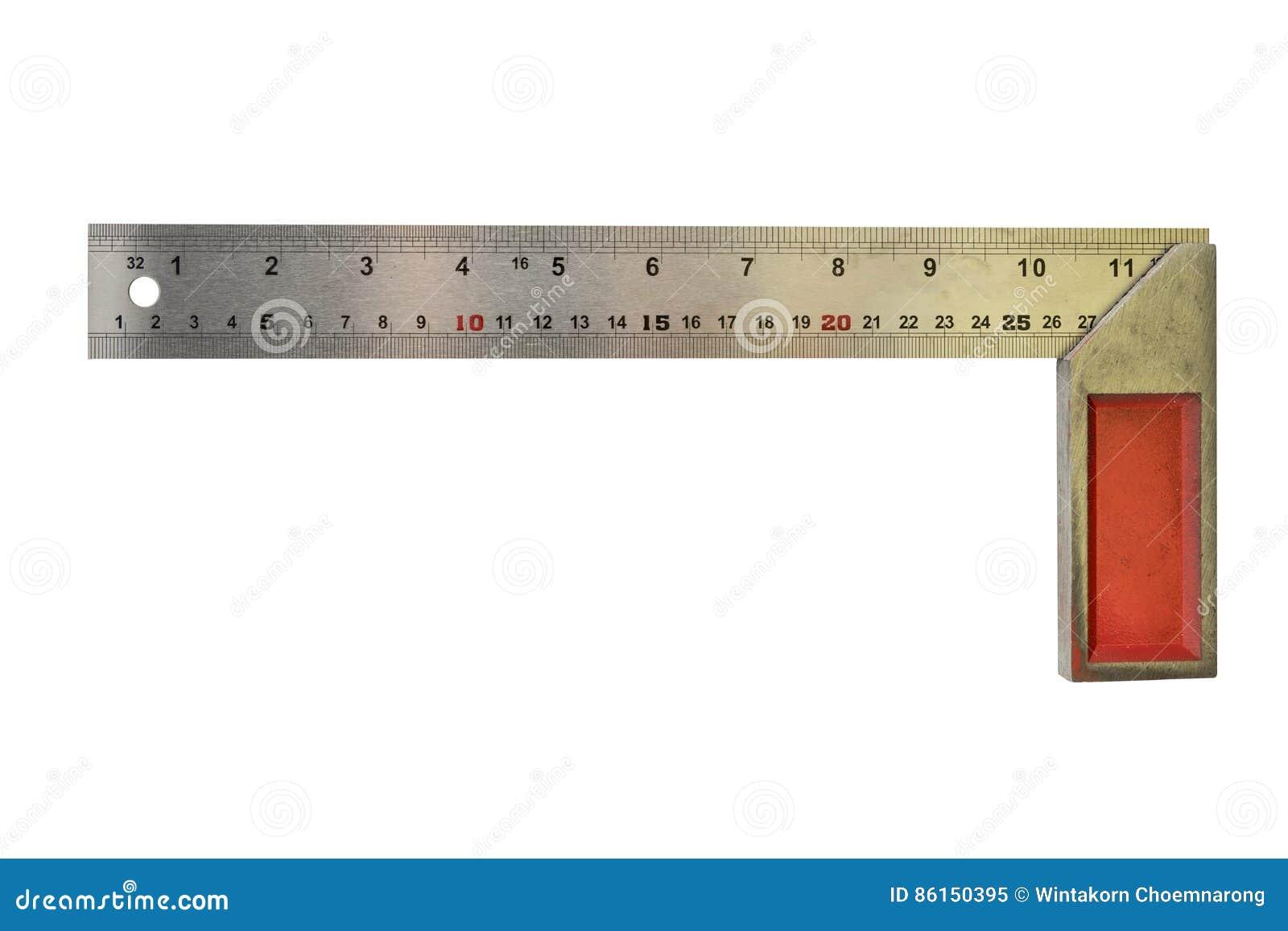 Cartabón Que Enmarca De Acero Aislado Imagen de archivo - Imagen de ...