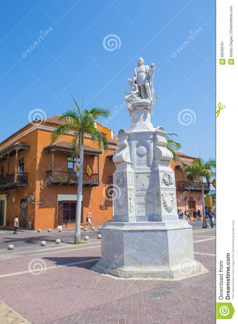 Cartagena Colombia Editorial Photo. Image Of America