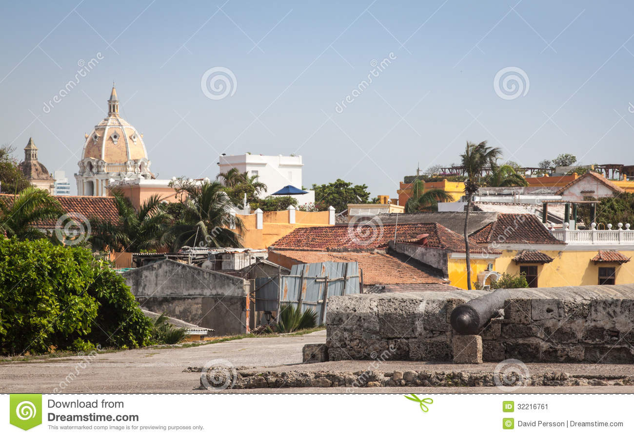 Cartagena Colombia South America Stock Image Of