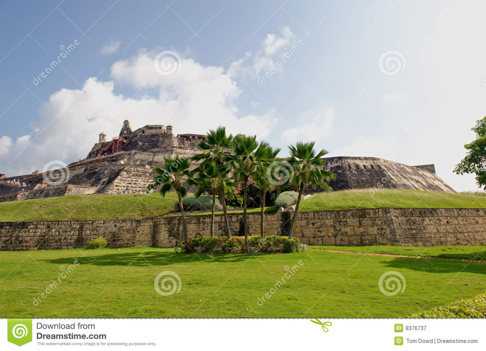 Cartagena-Festung Kolumbien