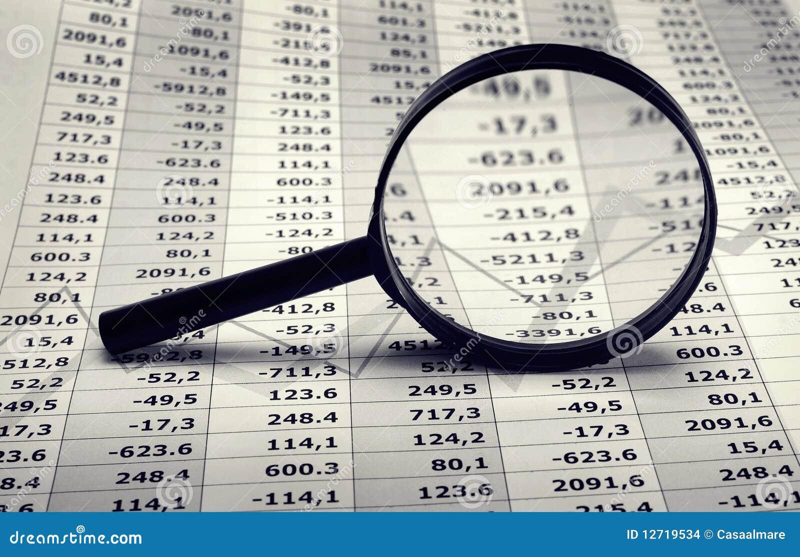Cartas financeiras e da economia
