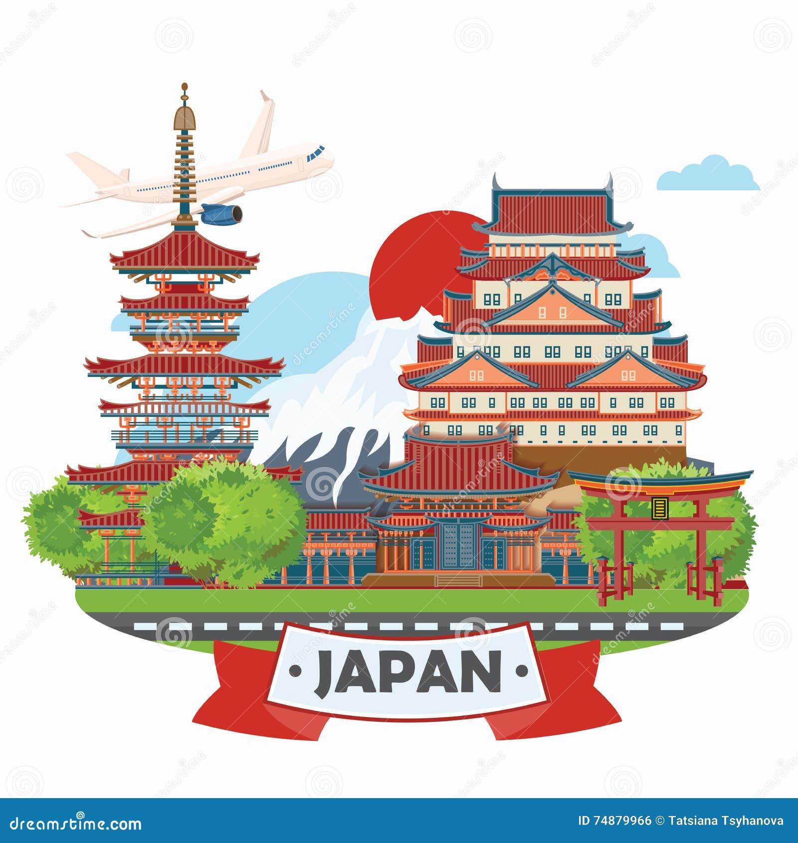 Cartaz do curso de Japão - curso a Japão