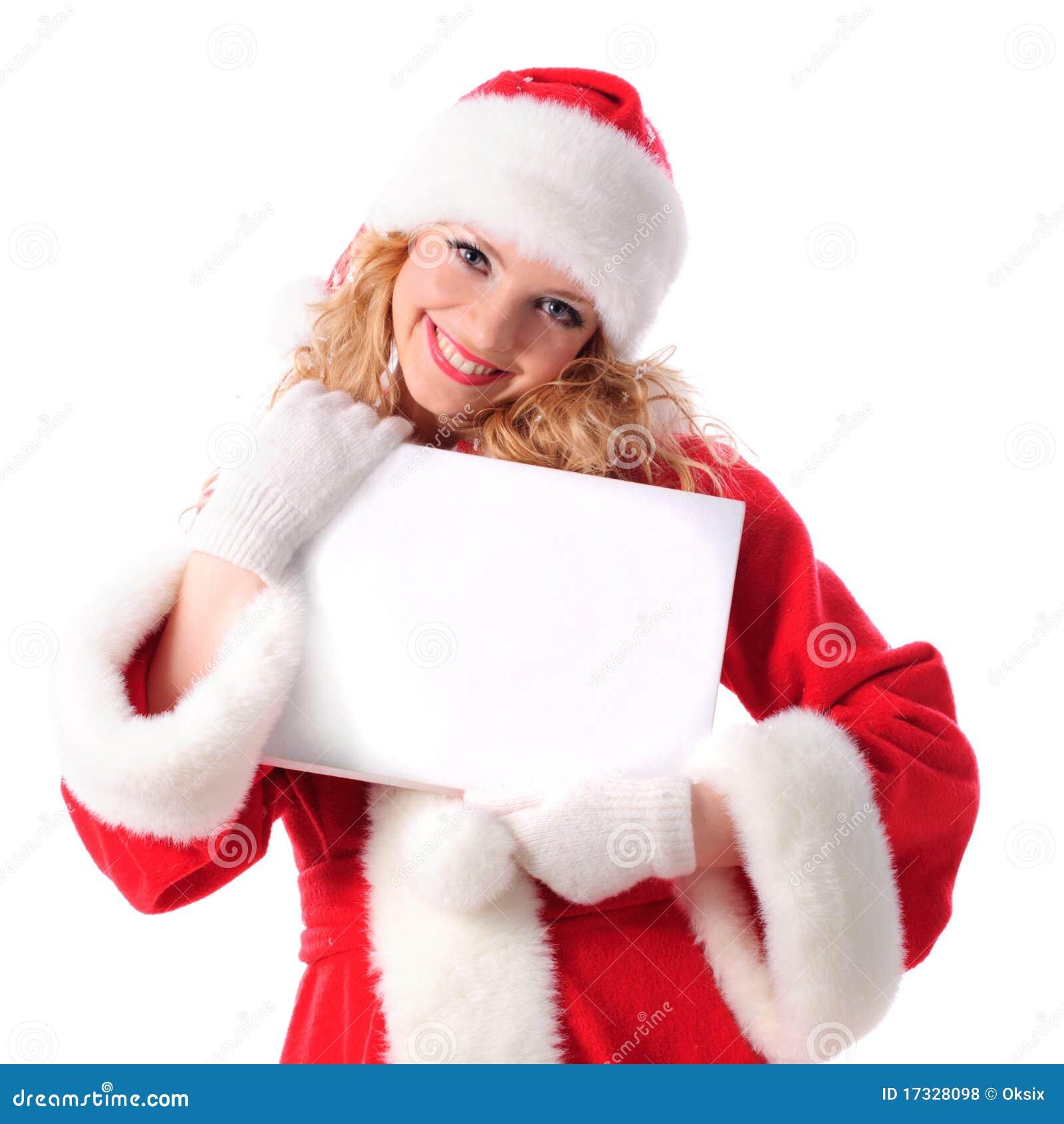Cartaz Em Branco Dos Cumprimentos Do Natal Fotos de Stock Royalty Free  #B81327 1300 1390