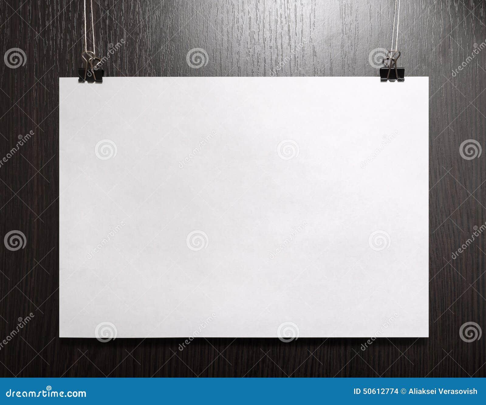 Cartaz horizontal