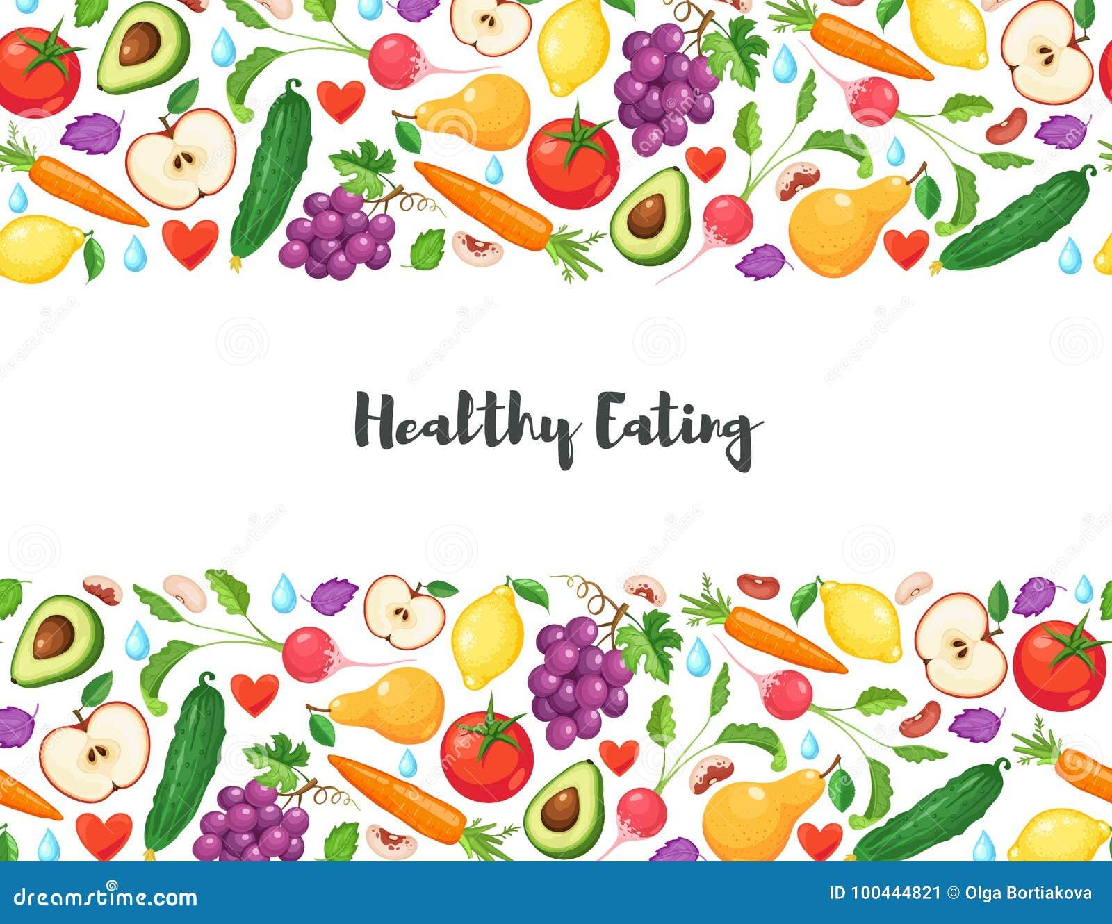 Cartaz saudável comer