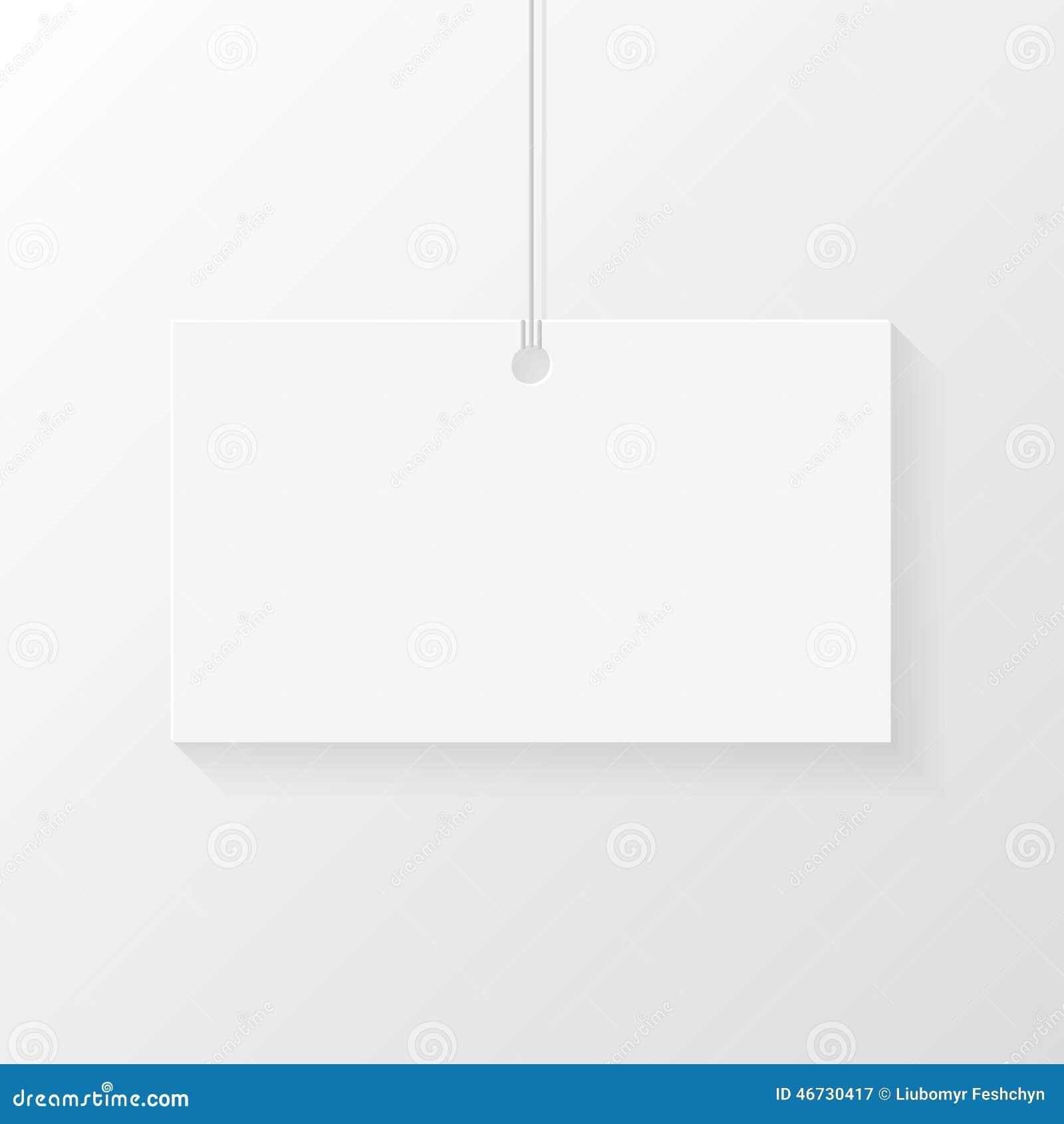 Download Carte Accrochee Sur La Dentelle Endroit Pour De Visite Professionnelle Ou Le Logo