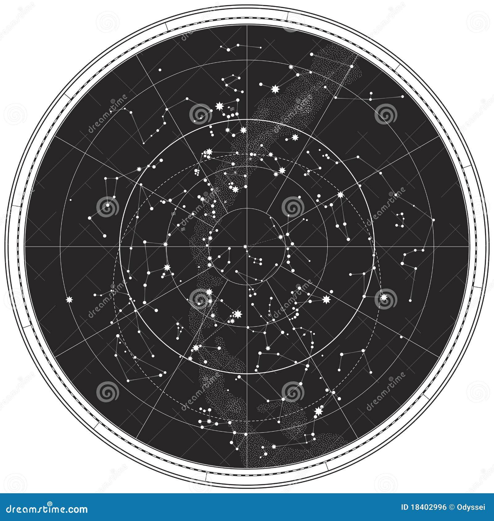 carte celeste