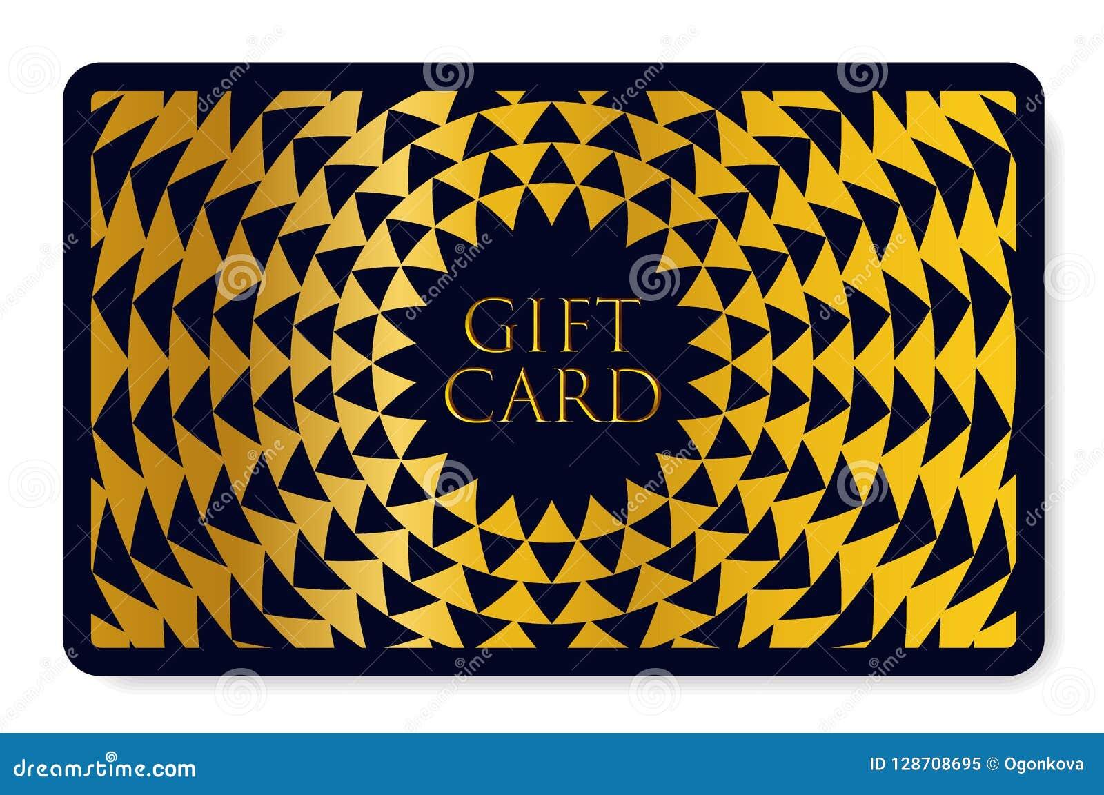 Carte Cadeau Polygone.Carte Cadeaux Avec La Texture Abstraite De Triangle De