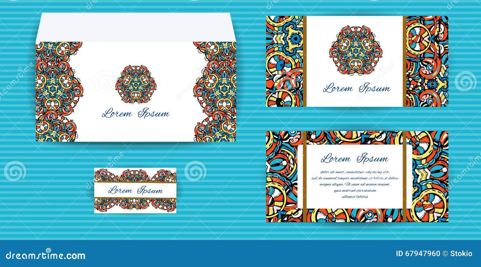Carte D Enveloppe Invitation Et De Visite