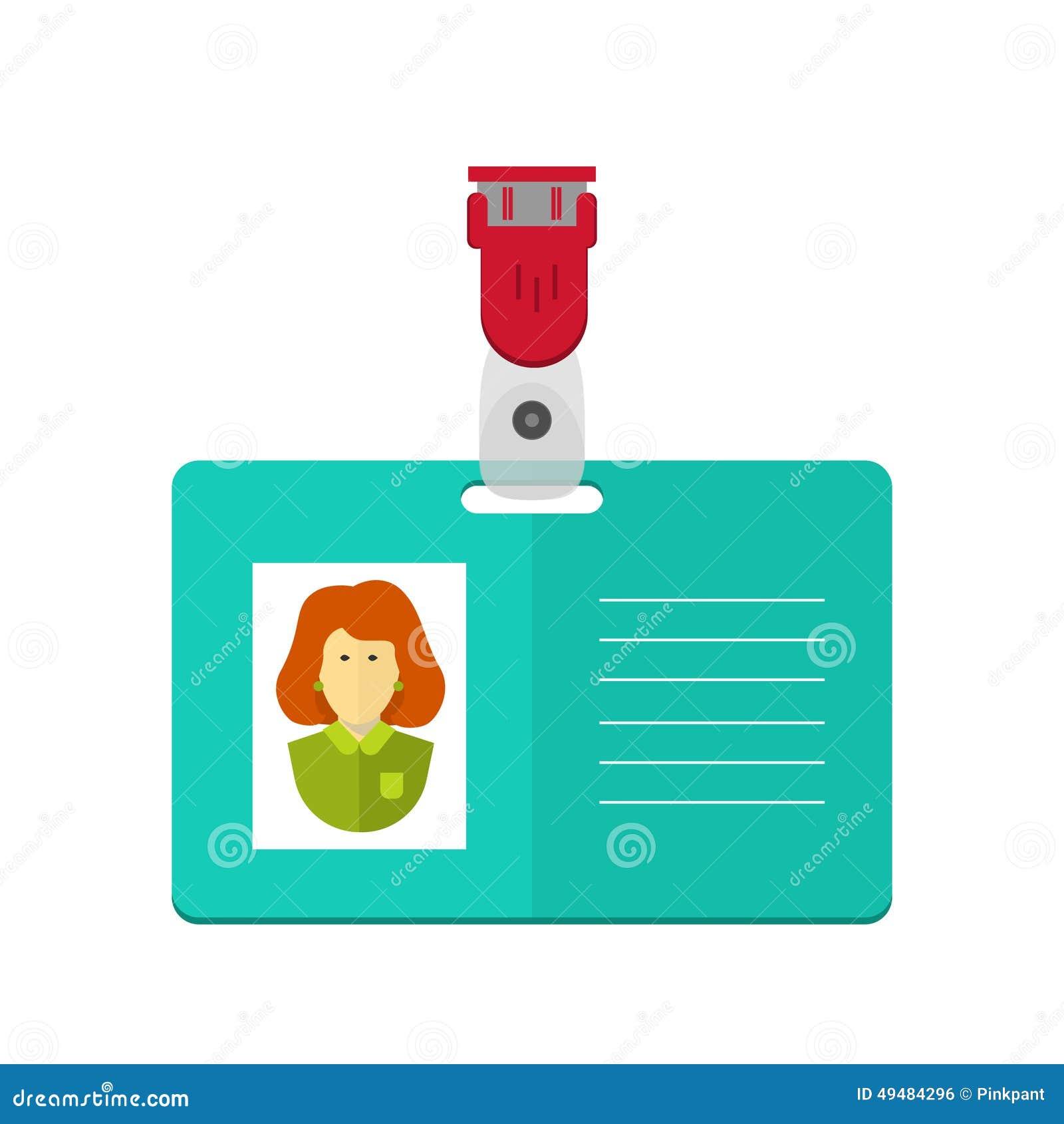 Carte D 39 Identit De La Personne Insigne Carte D 39 Identit