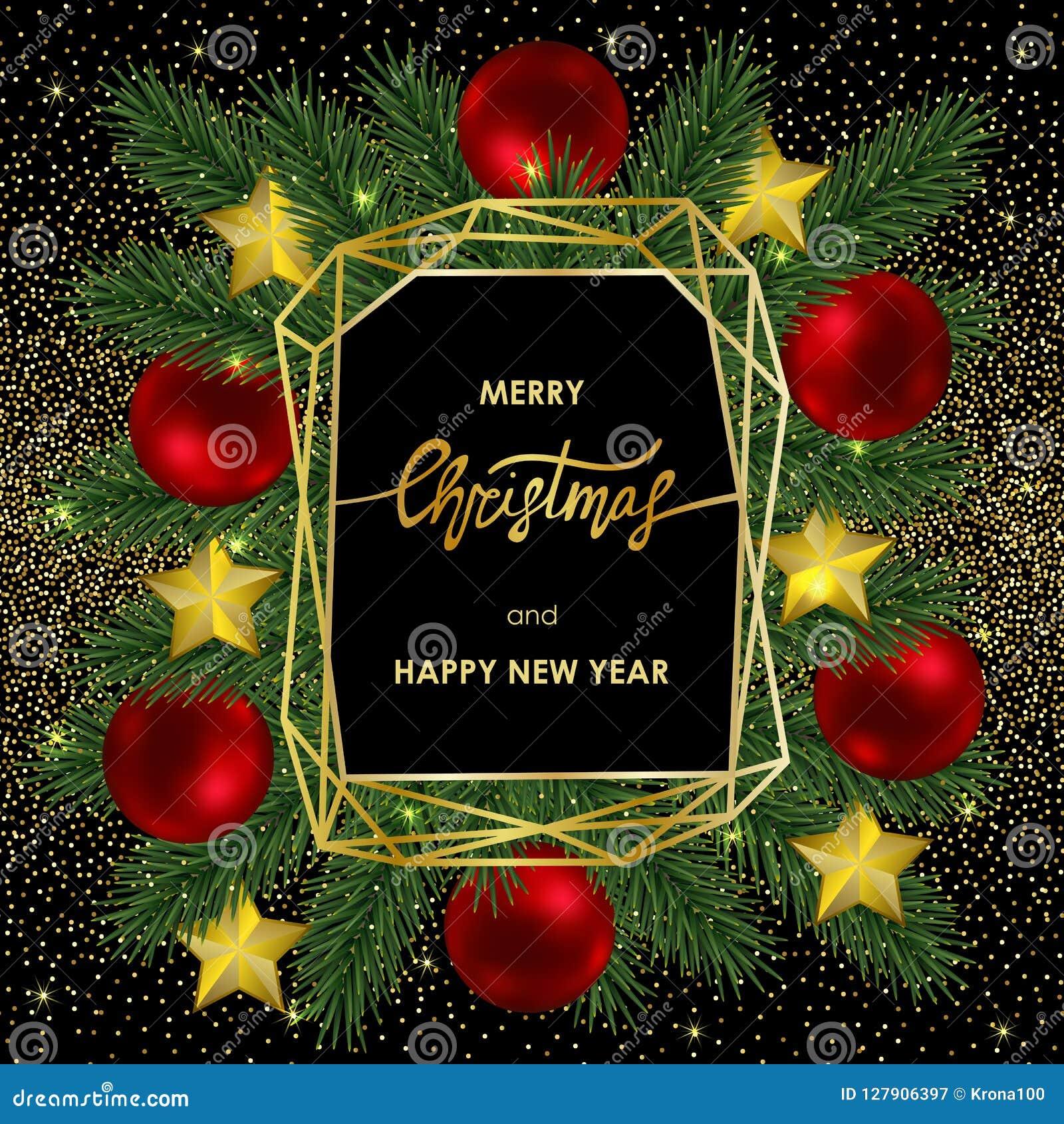 Joyeux Messages de Noël Vacances Deluxe Invitations