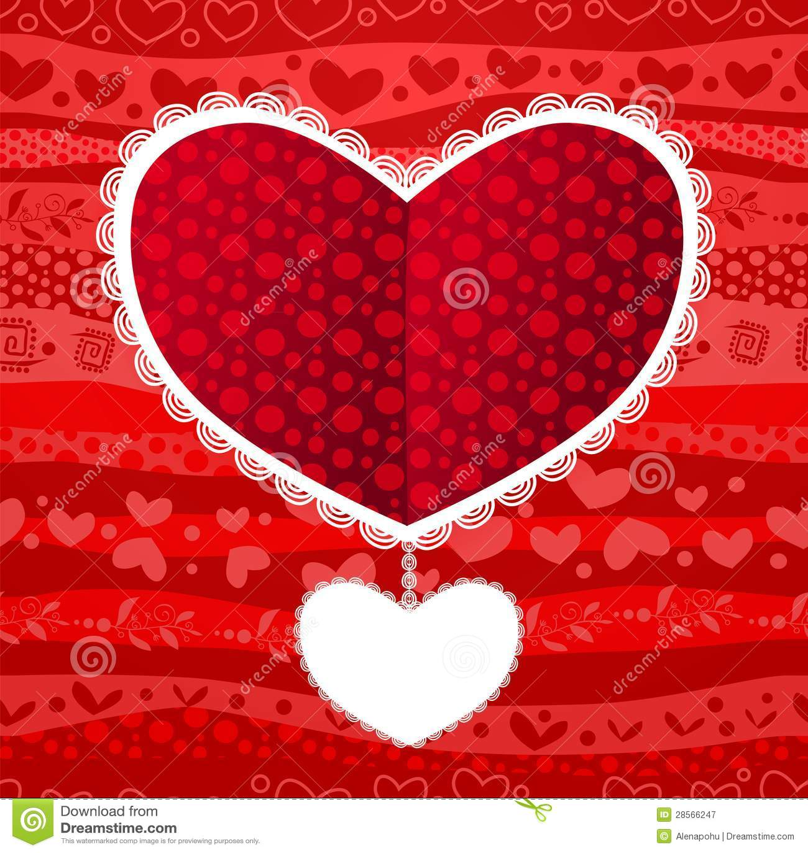 carte de coeur de mariage de saint valentin d 39 amour illustration stock illustration du ligne. Black Bedroom Furniture Sets. Home Design Ideas