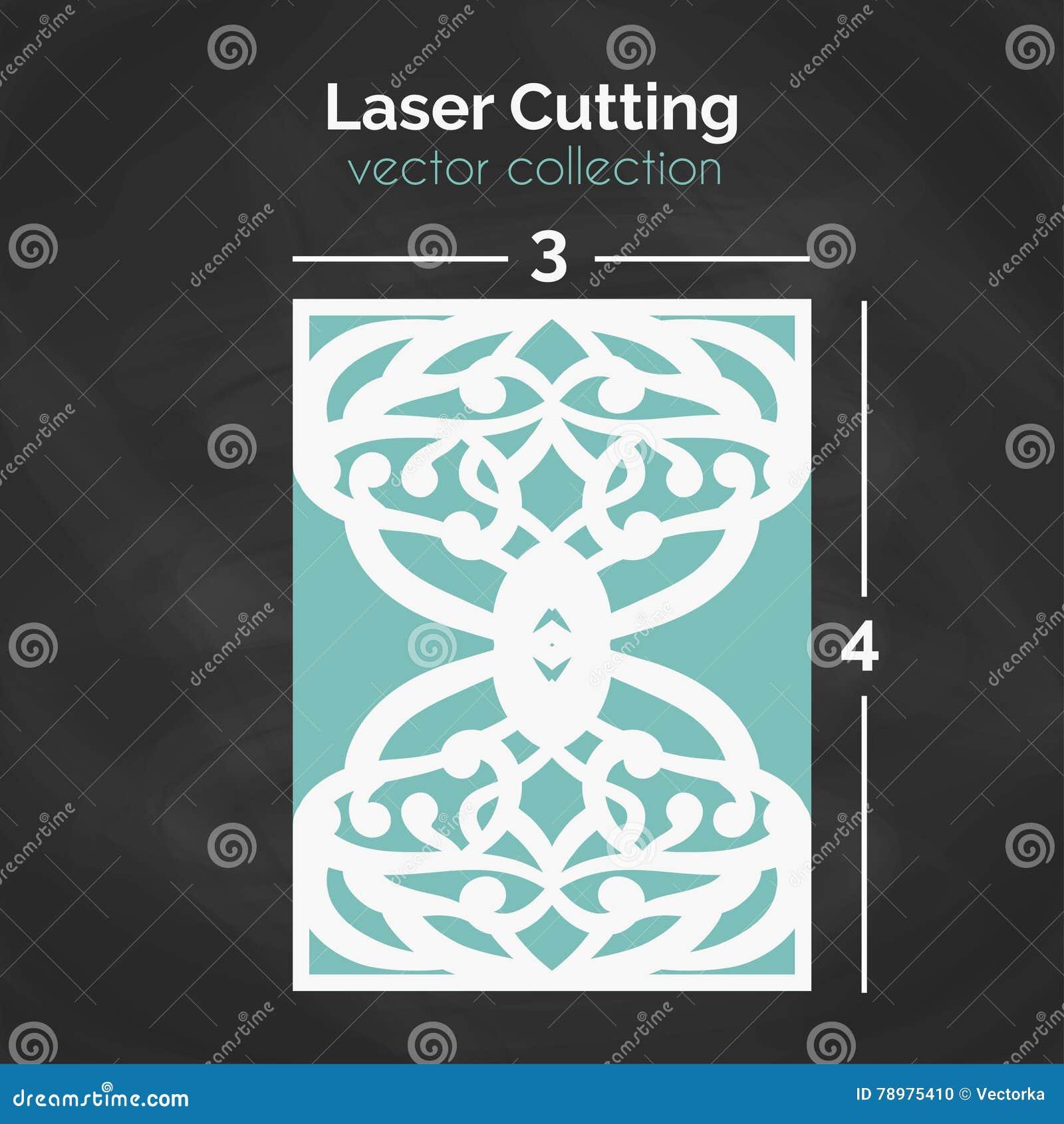 Carte de coupe de laser Calibre pour la coupure Illustration de coupe-circuit