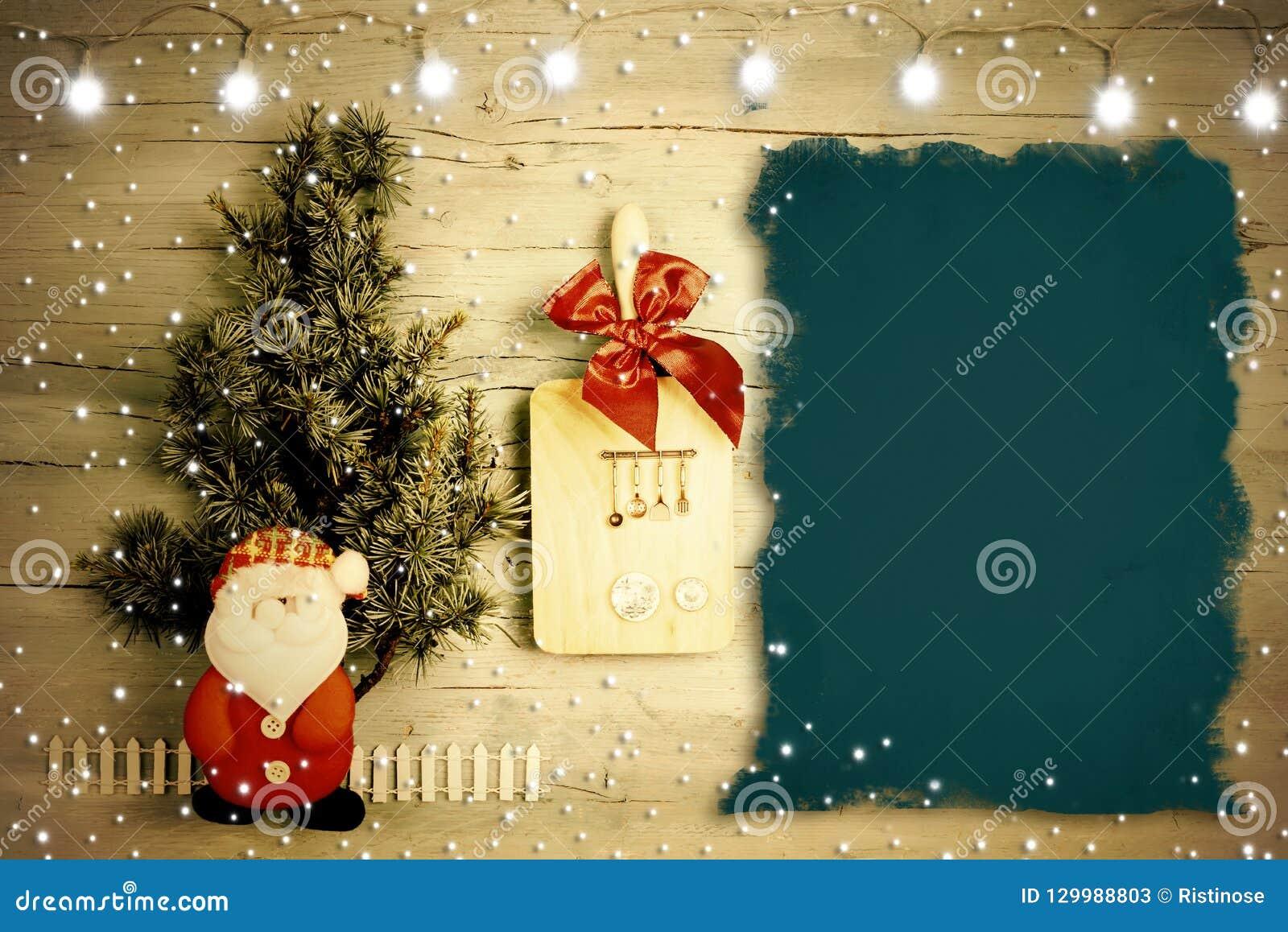 Carte De Menu Pour Noel.Carte De Fond D Amusement Pour Le Menu Ou Les Recettes De