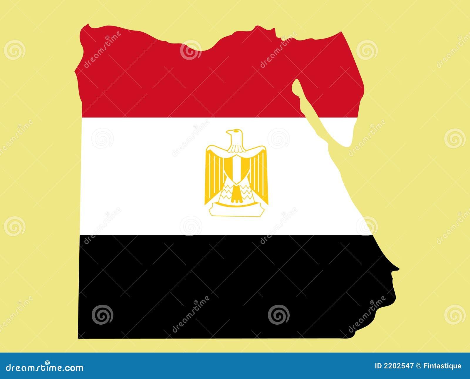 Carte de l Egypte