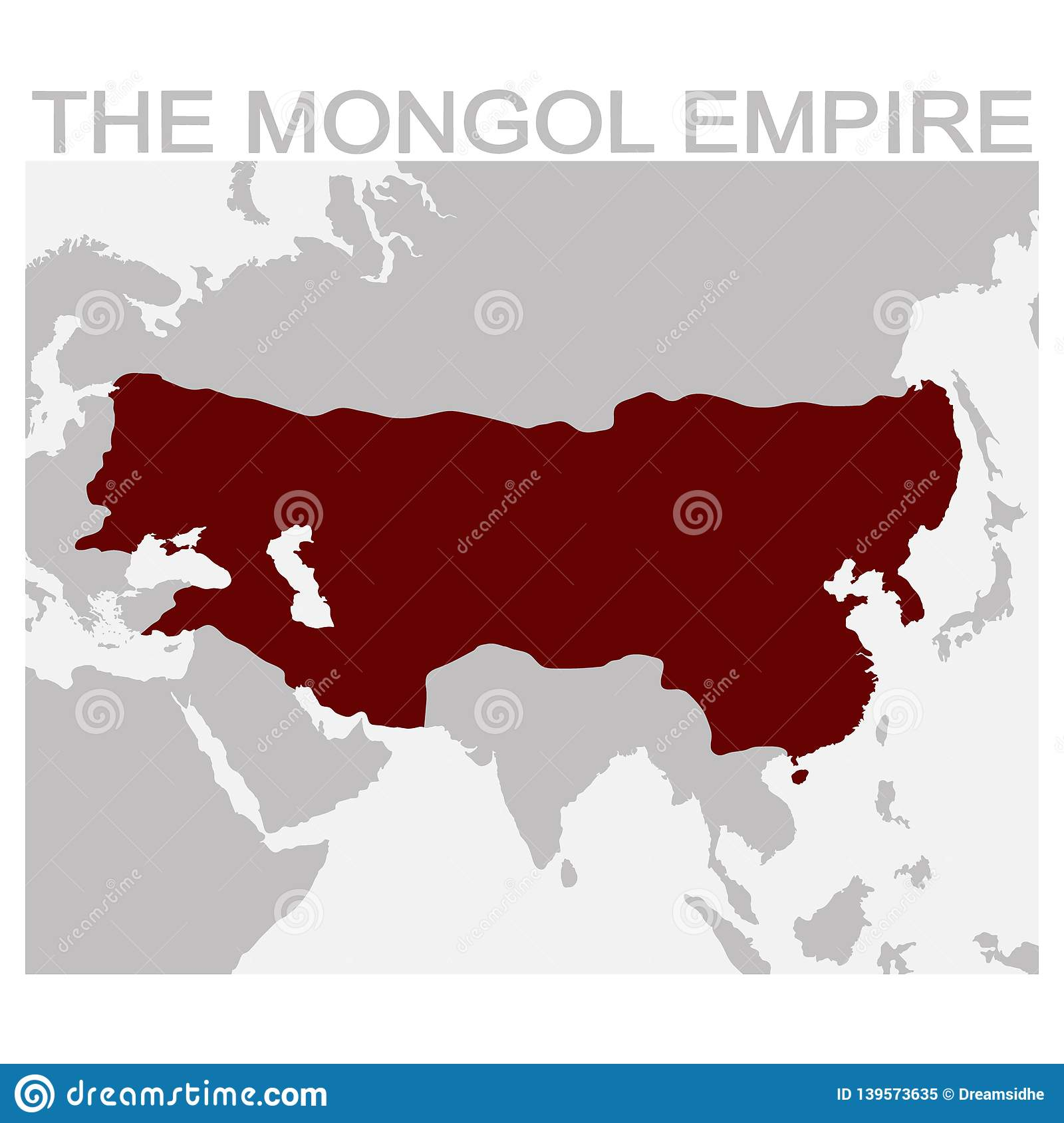 Carte de l empire mongol