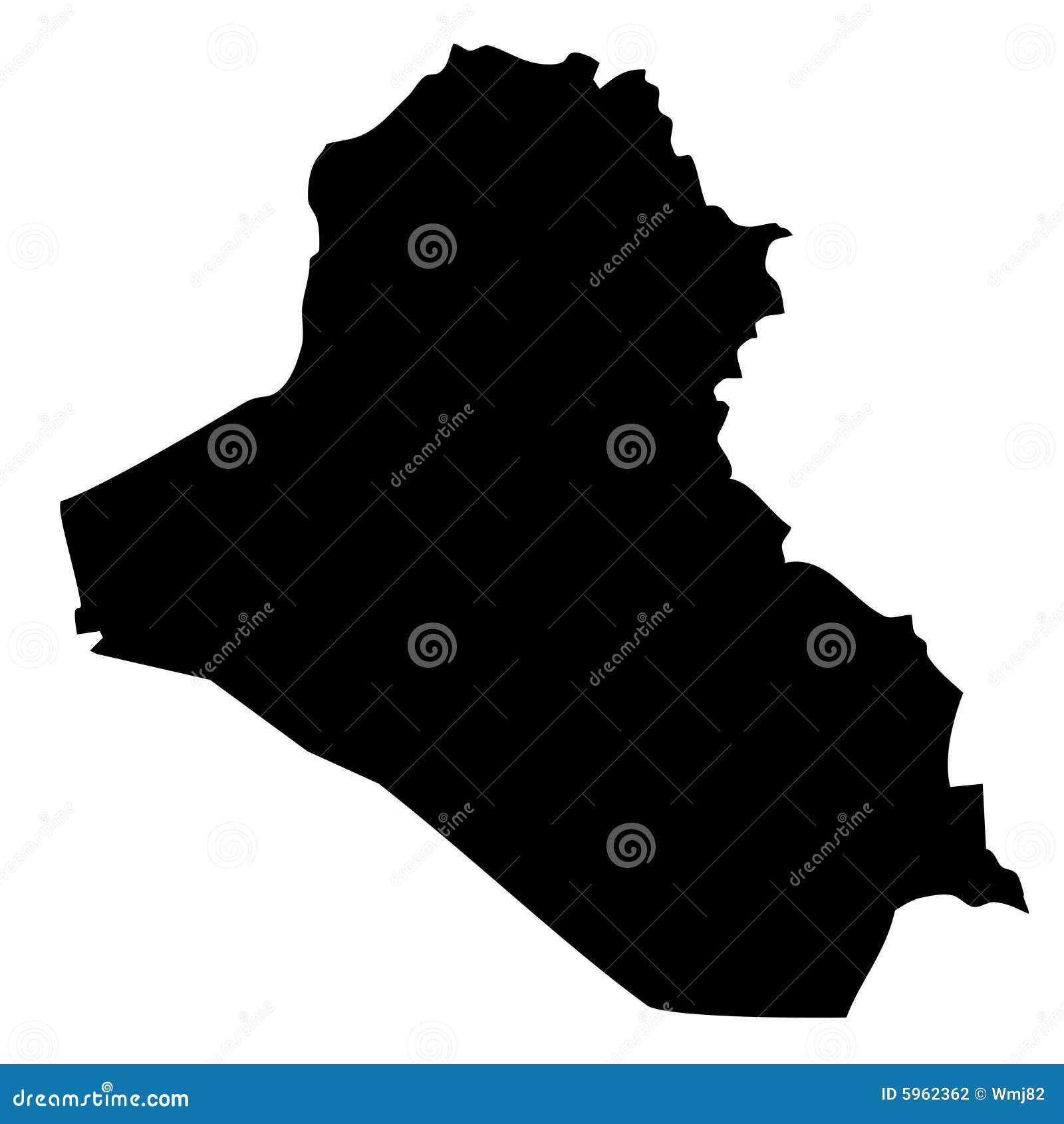 Carte de l Irak