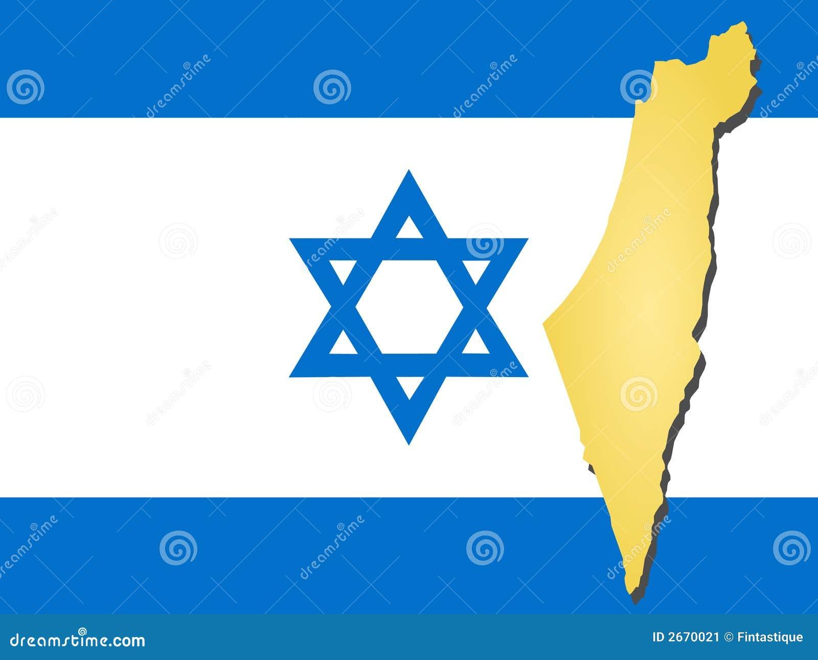 Carte de l Israël