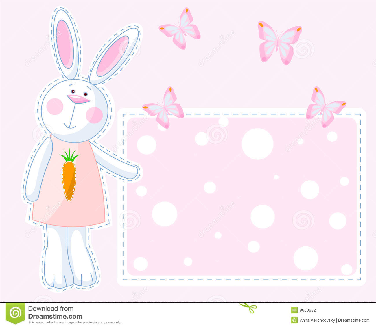 Carte de lapin