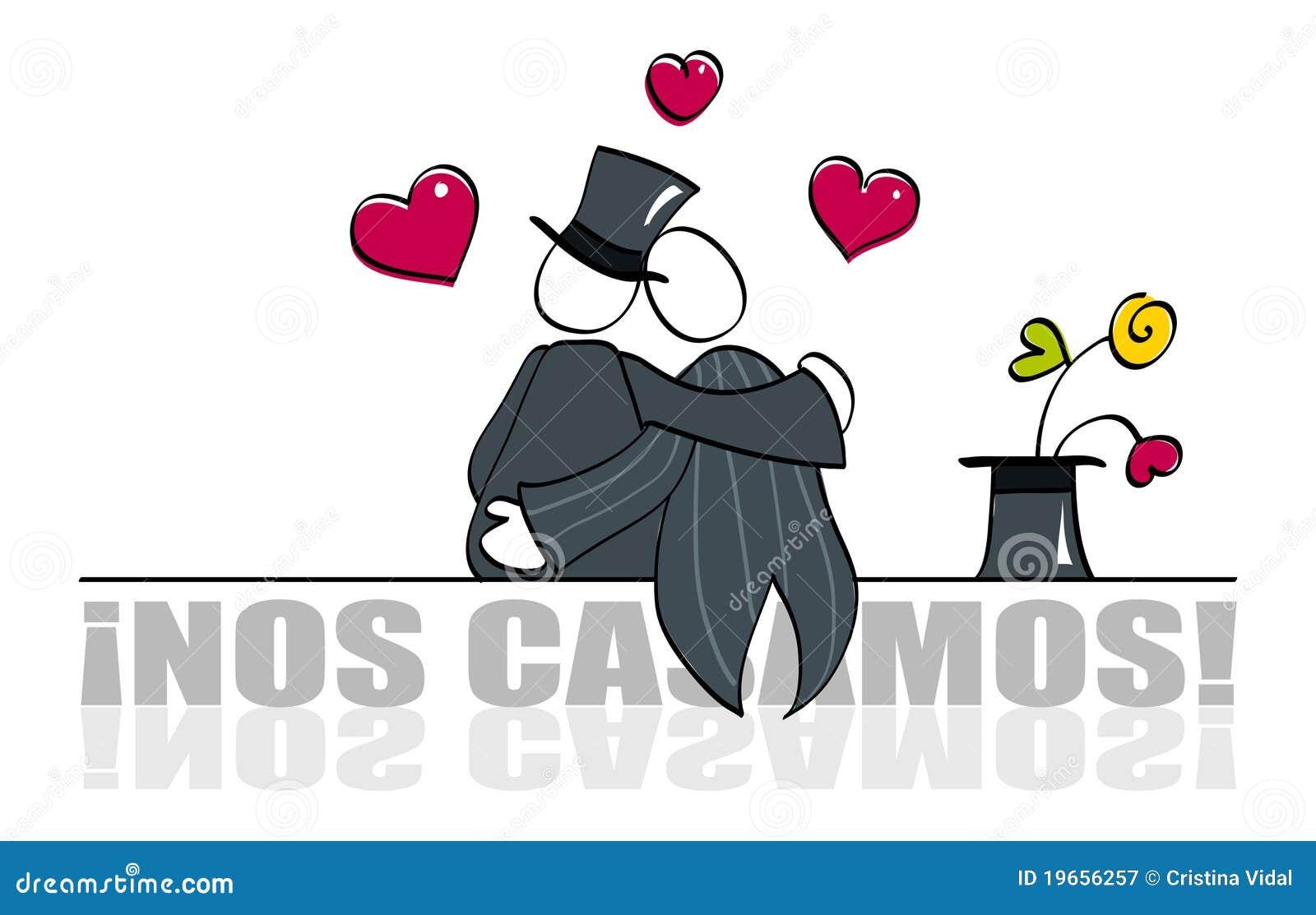 Carte de mariage homosexuelle drôle
