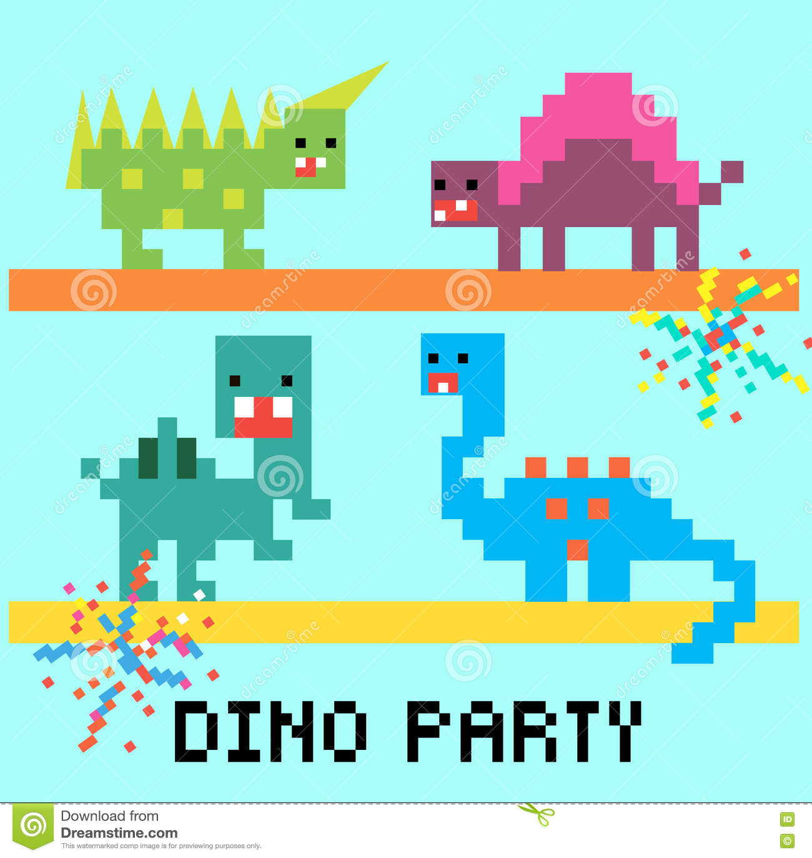 Carte de partie de Dino