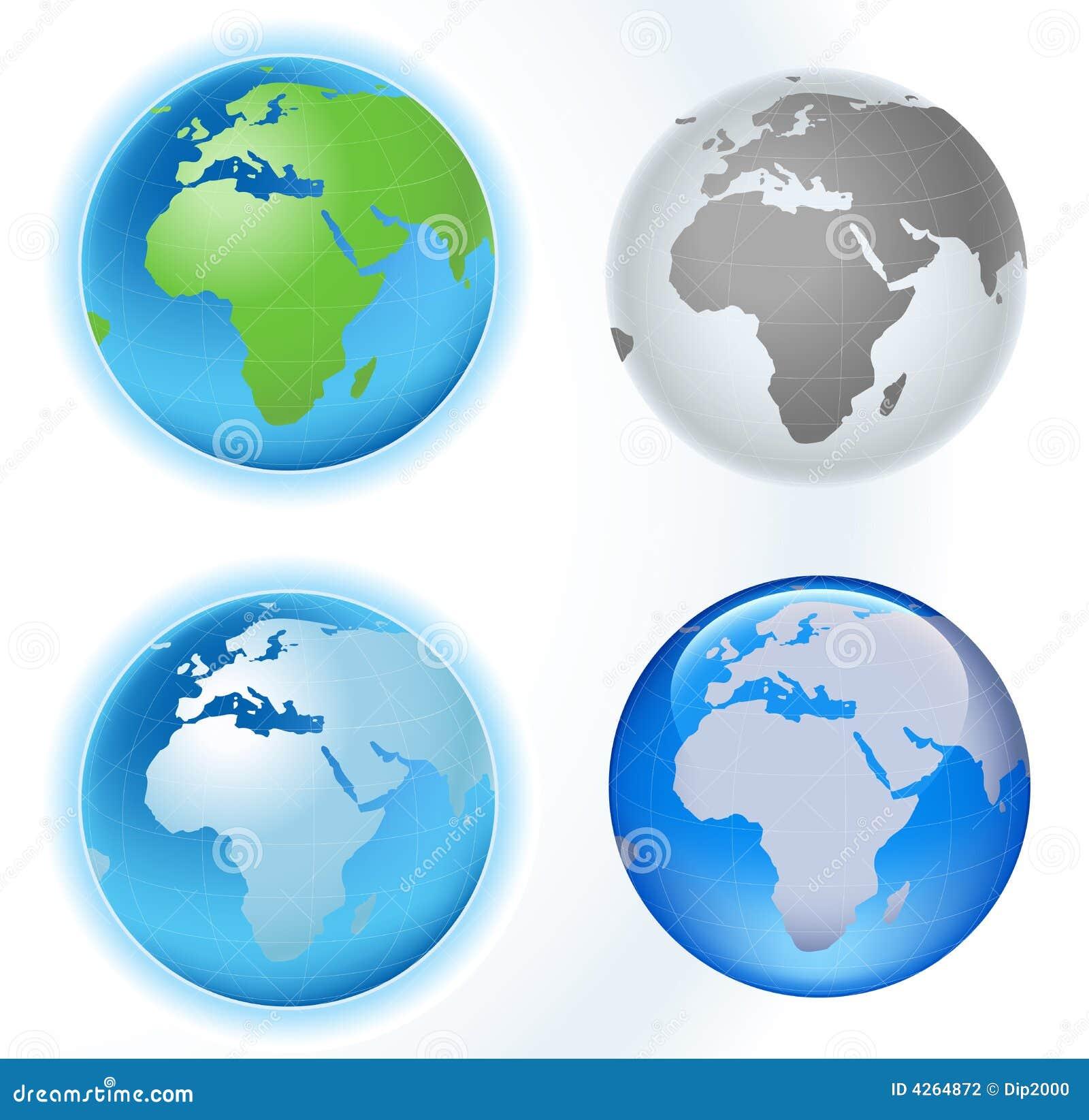 Carte de planète