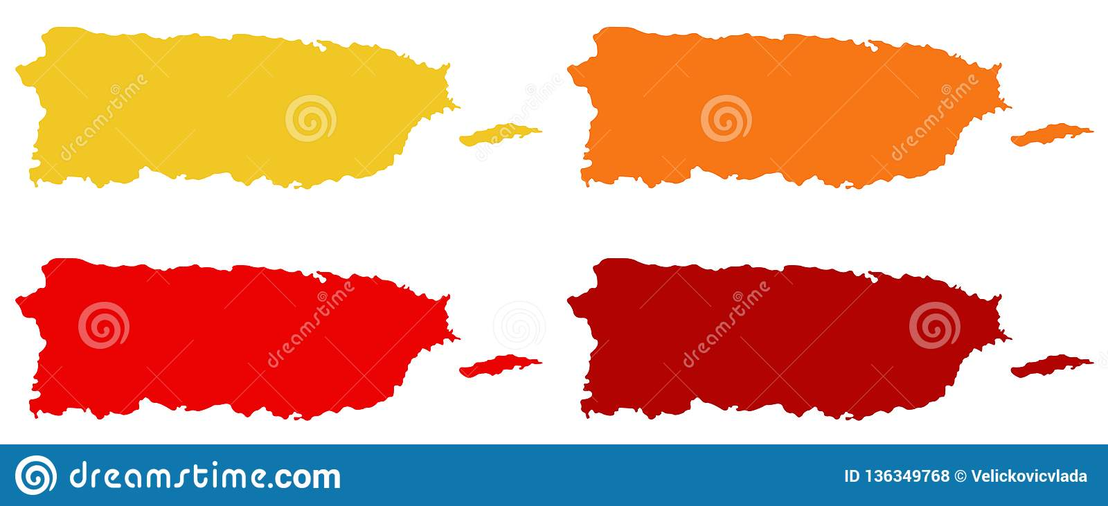 Carte de Puerto Rico - Commonwealth de Puerto Rico