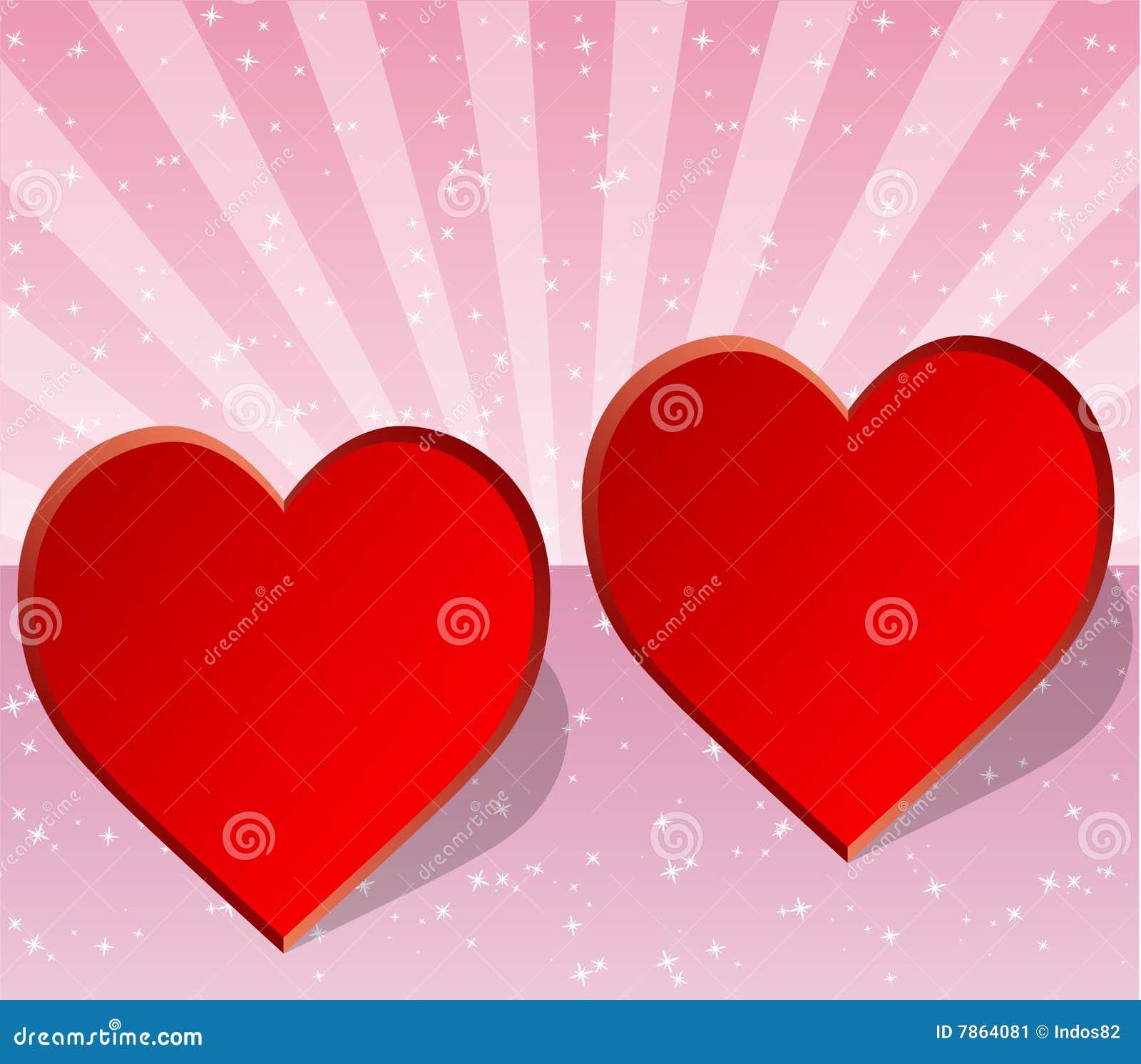 Carte de valentine de mariage ou d 39 amour illustration de vecteur illustration du stars - Carte d amour ...