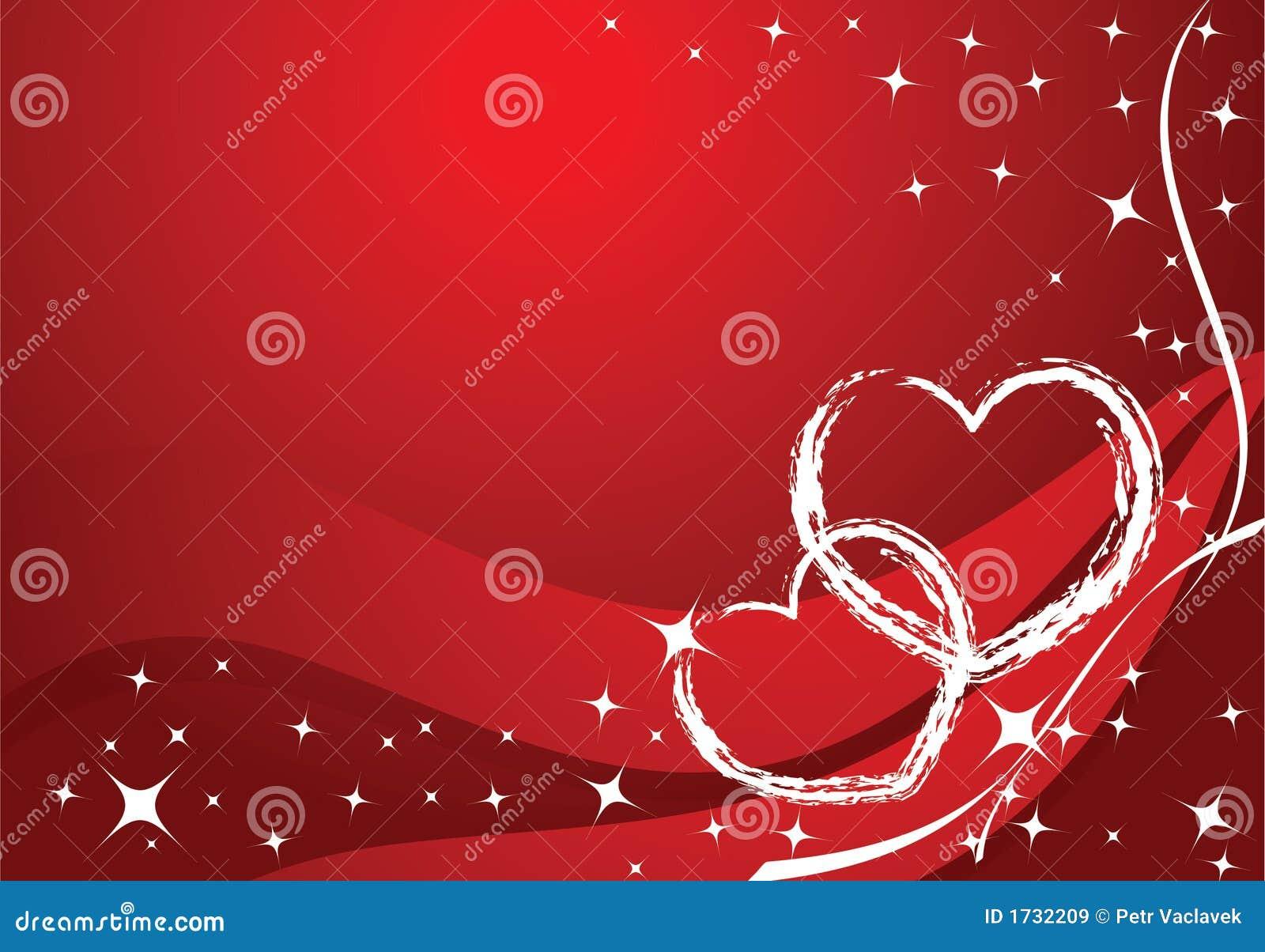 Carte de valentine de vecteur