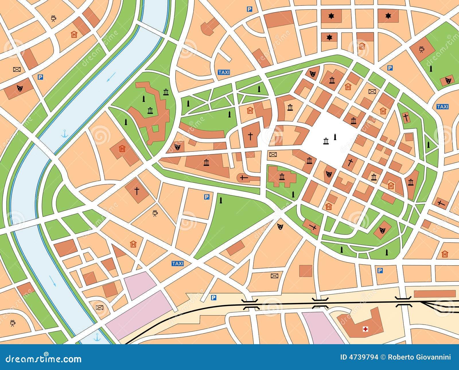 Carte de ville