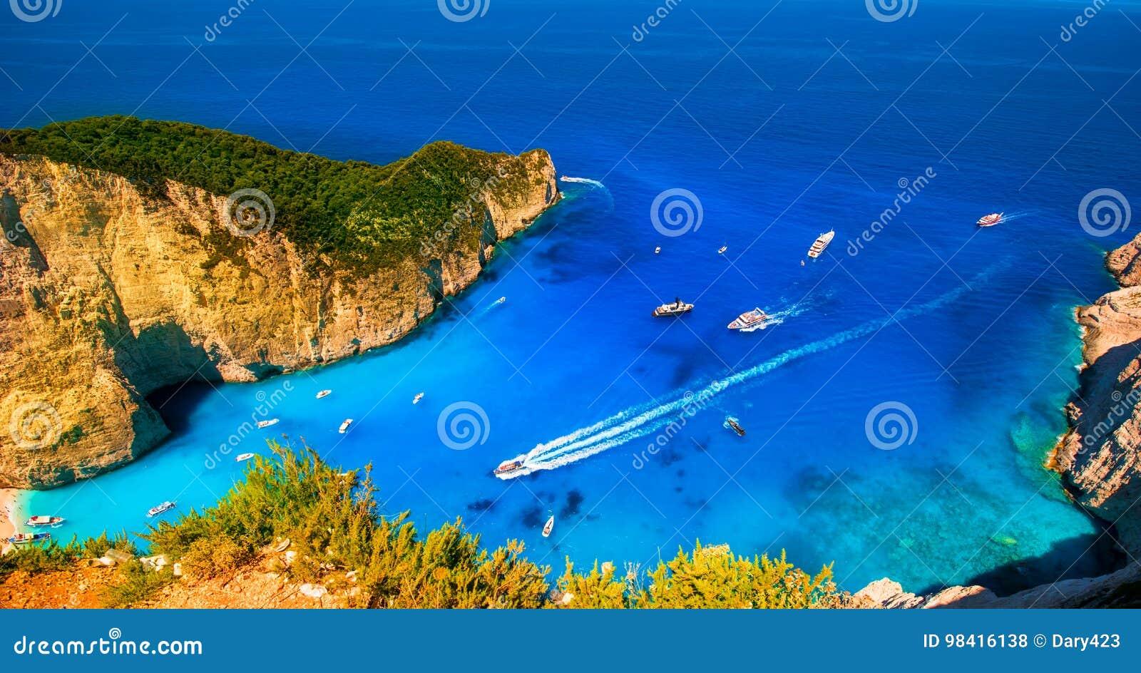 Carte De Visite L Le Zakynthos Baie Navagio