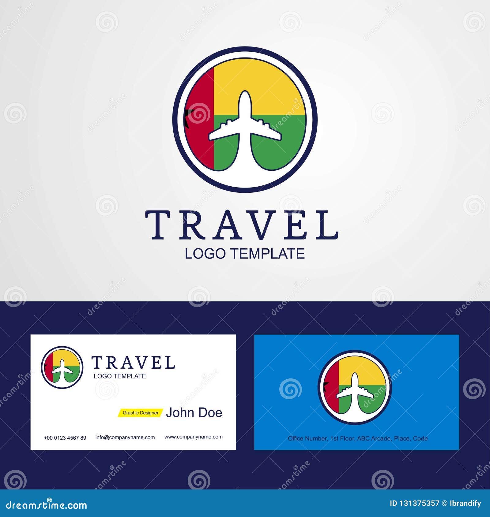 Carte De Visite Professionnelle Creative Logo Et Drapeau Cercle La