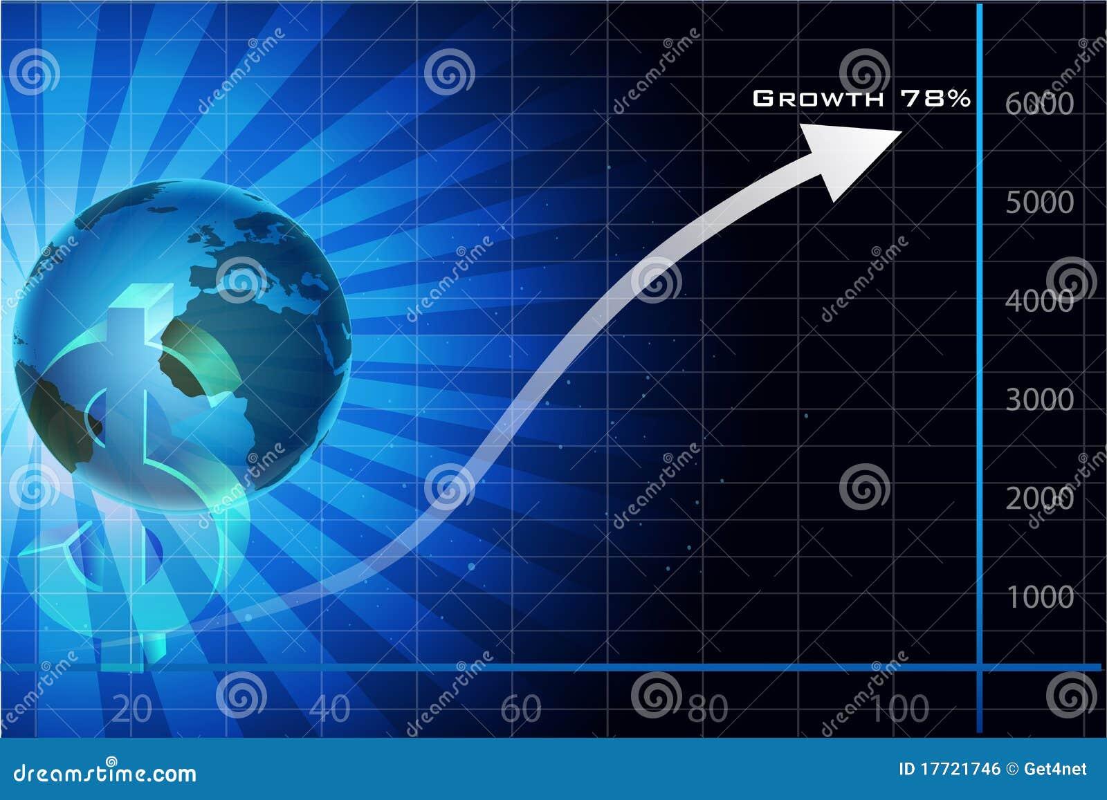 Carte De Visite Professionnelle Avec La Flche Et Le Dollar Globe