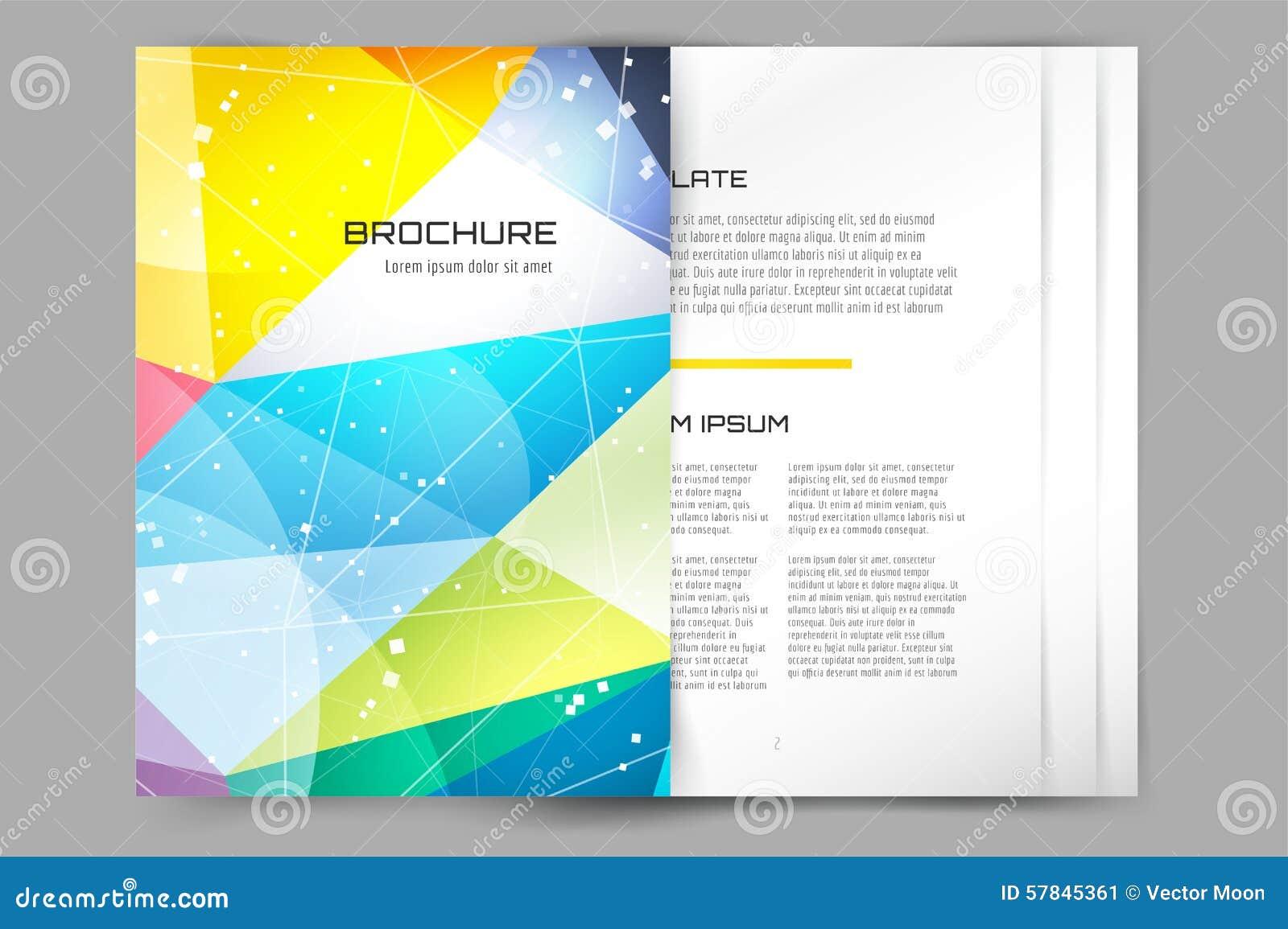 Carte De Visite Professionnelle Conception Abstraite Triangle Et Idee Creative Blanc Copie Papier Dinsecte
