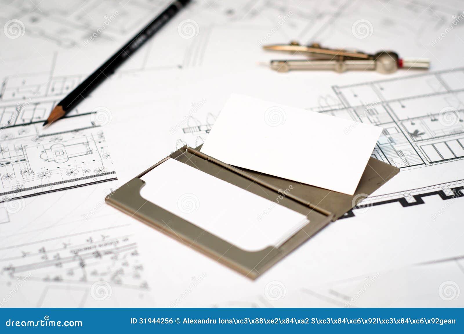 Carte De Visite Professionnelle D Architecte