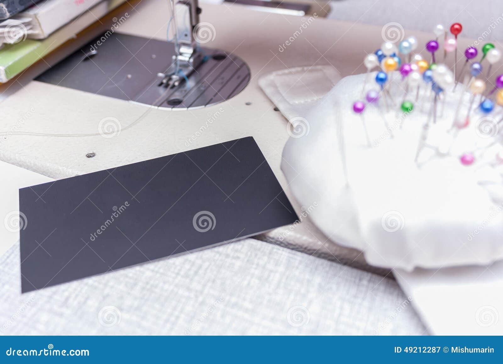Carte De Visite Professionnelle D Ouvriere Couturiere Tailleur
