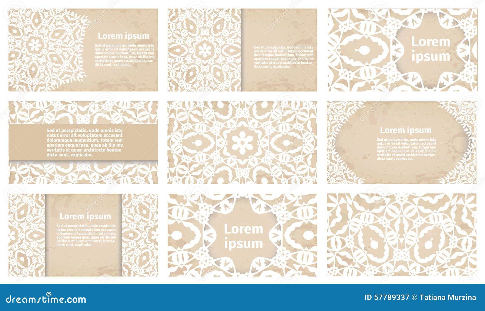 Carte De Visite Professionnelle Vintage Ou Collection D Invitation Mariage