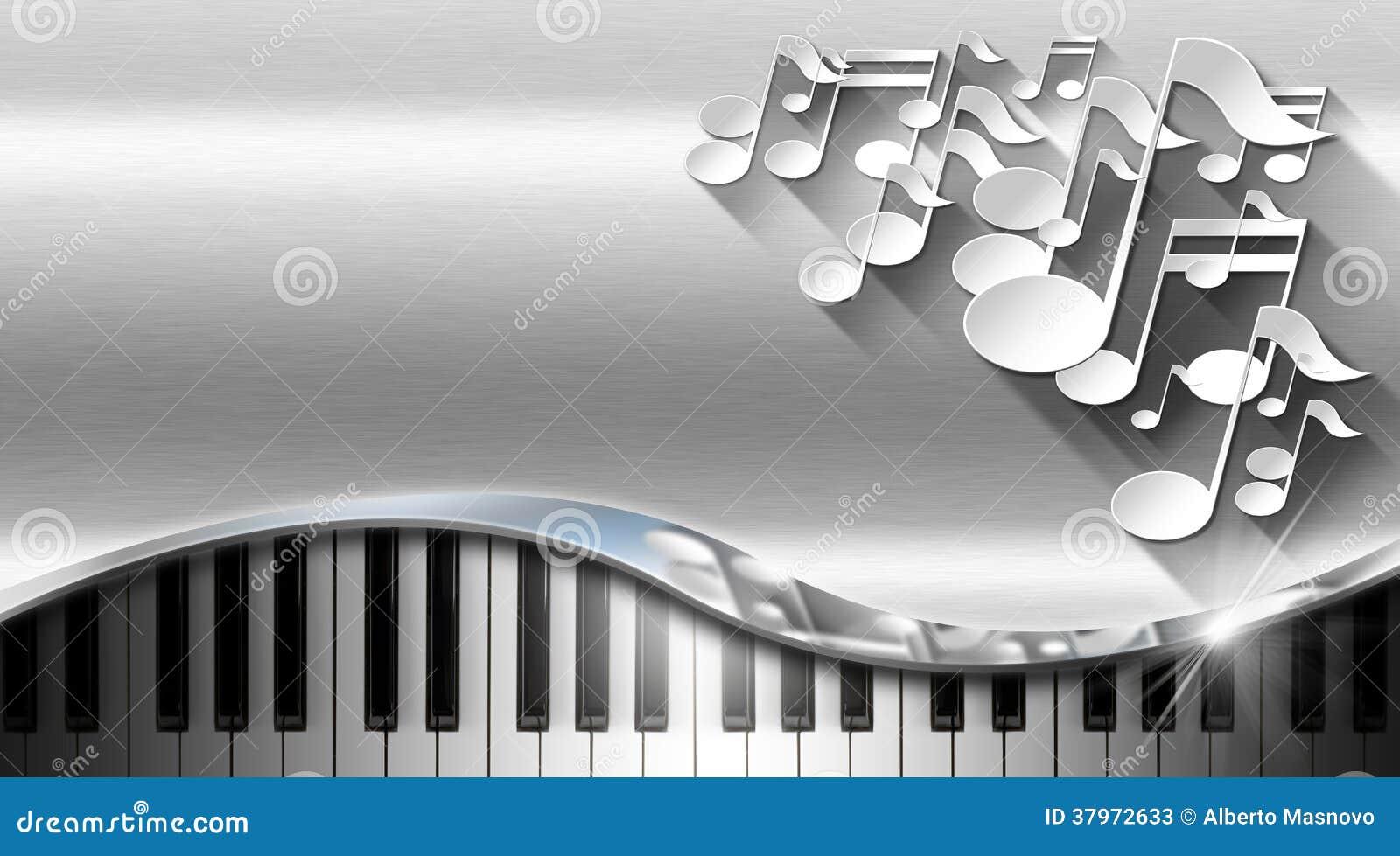 Carte De Visite Professionnelle En Mtal Musique