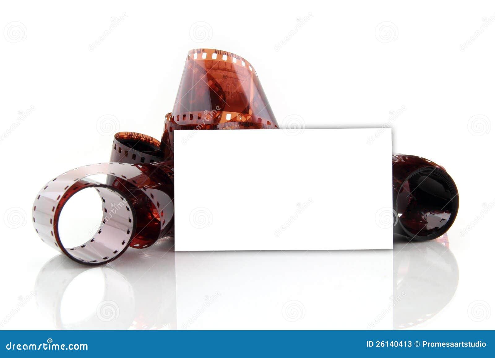 Carte De Visite Professionnelle Pour Le Photographe