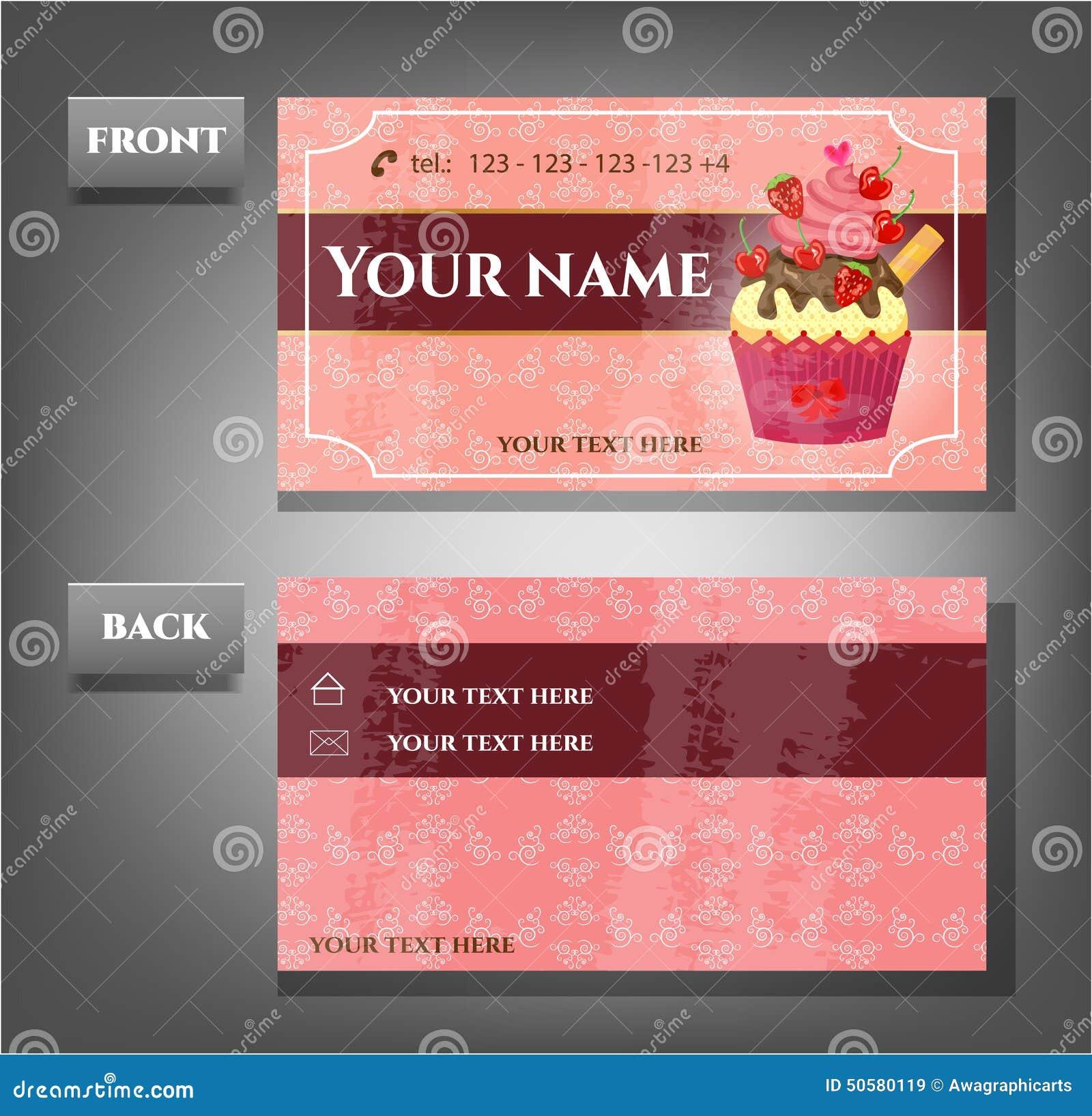 Carte De Visite Professionnelle Romantique