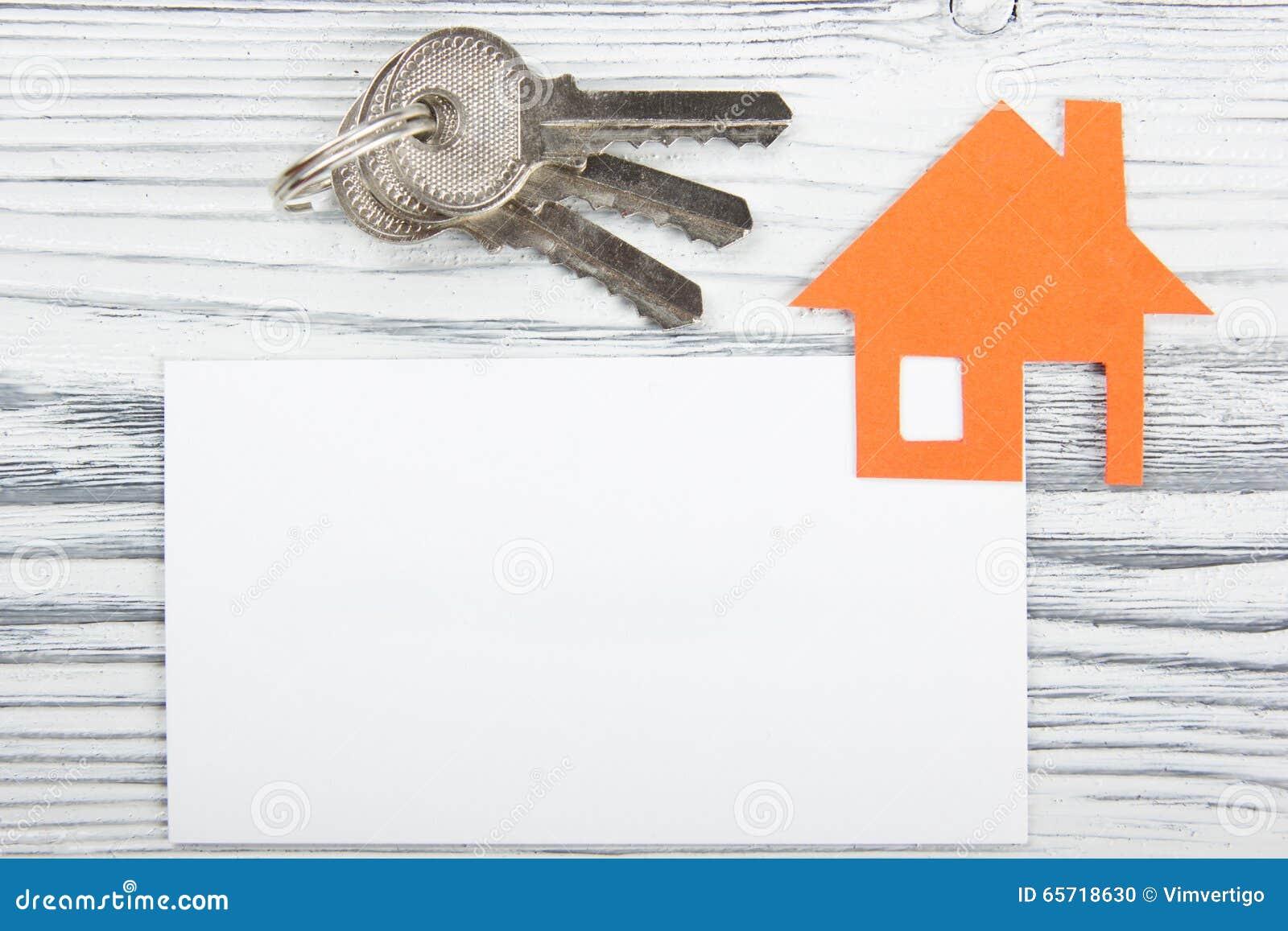 Download Carte De Visite Professionnelle Vierge Avec Le Chiffre Maison Concept 6 D