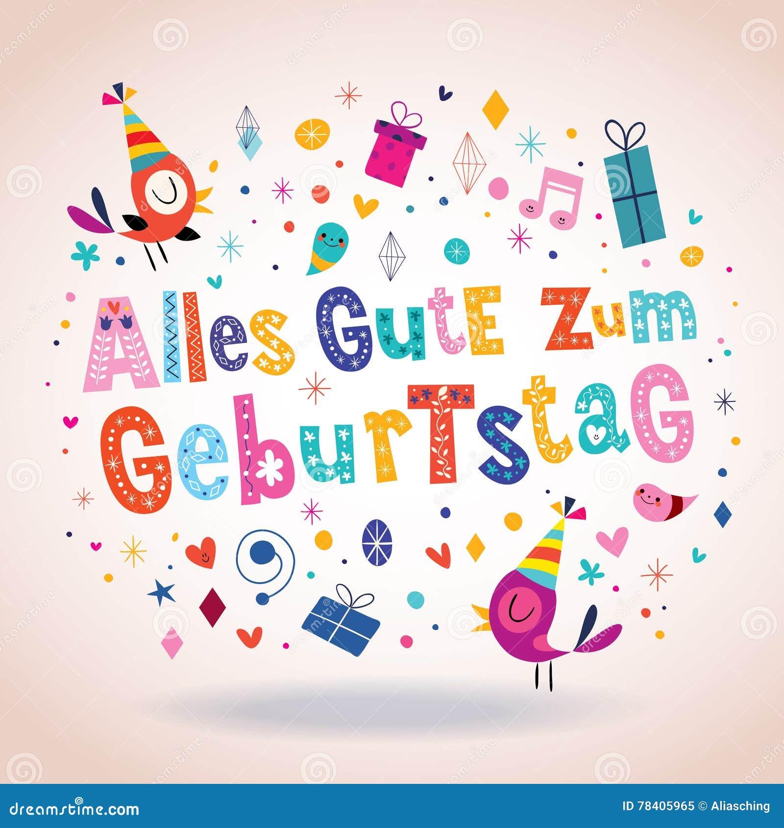 bon anniversaire chanson allemand