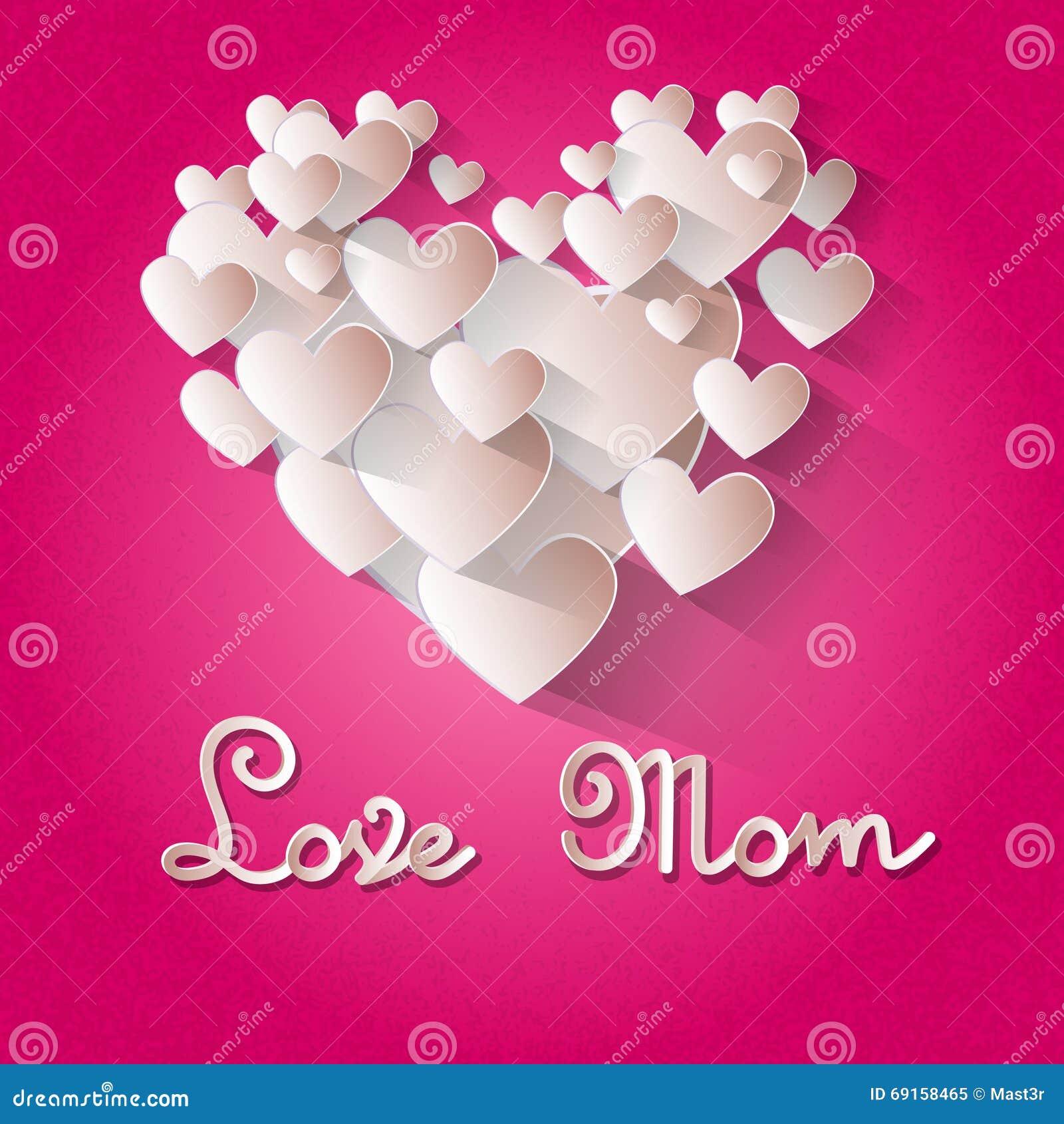 #B00353 Carte De Voeux De Forme De Coeur De Maman D'amour De  1911 Fete De La Petite Chambre D'amour 1300x1390 px @ aertt.com