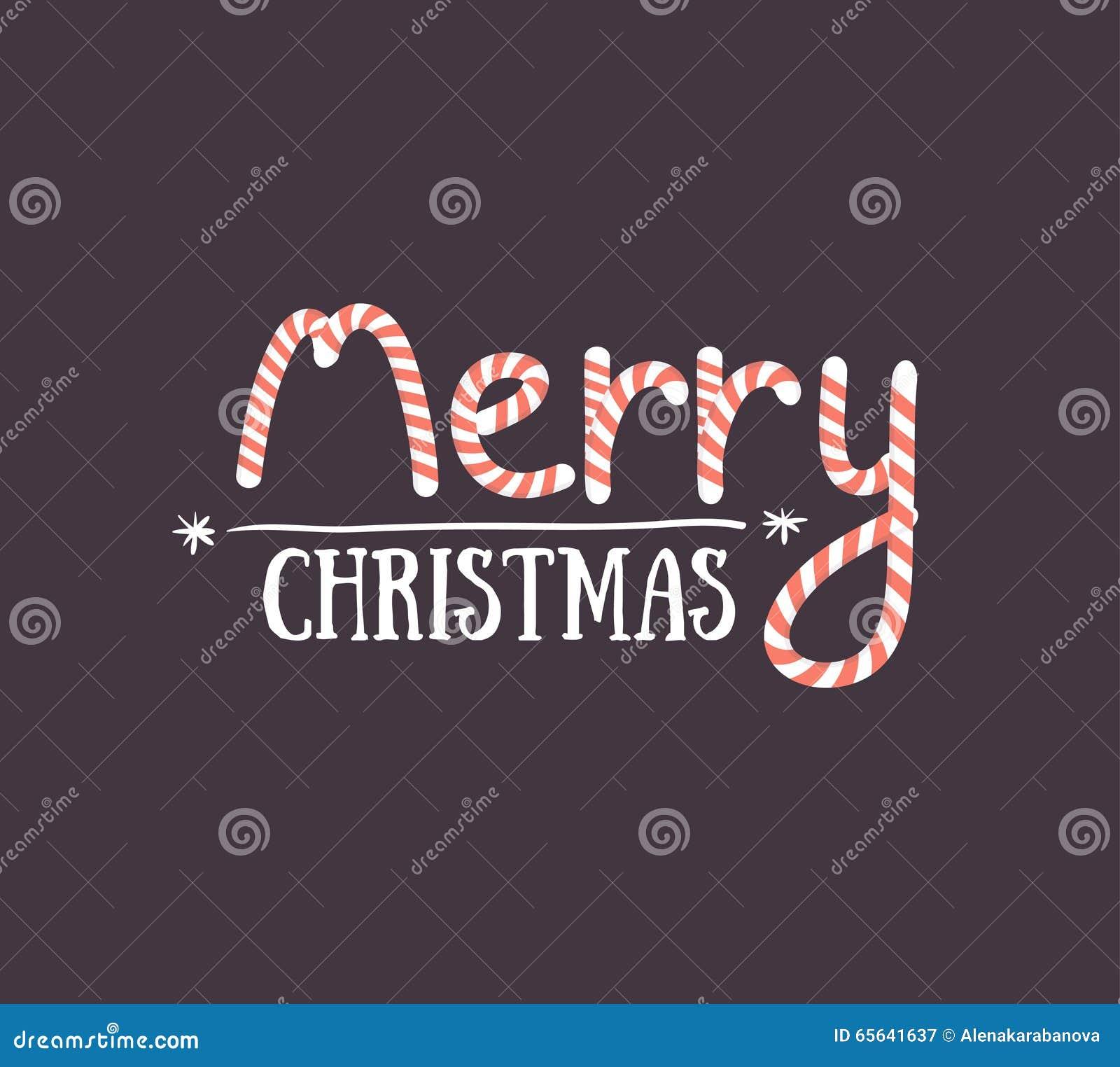 Carte de voeux de Joyeux Noël sur le fond foncé Cartes de voeux de saison