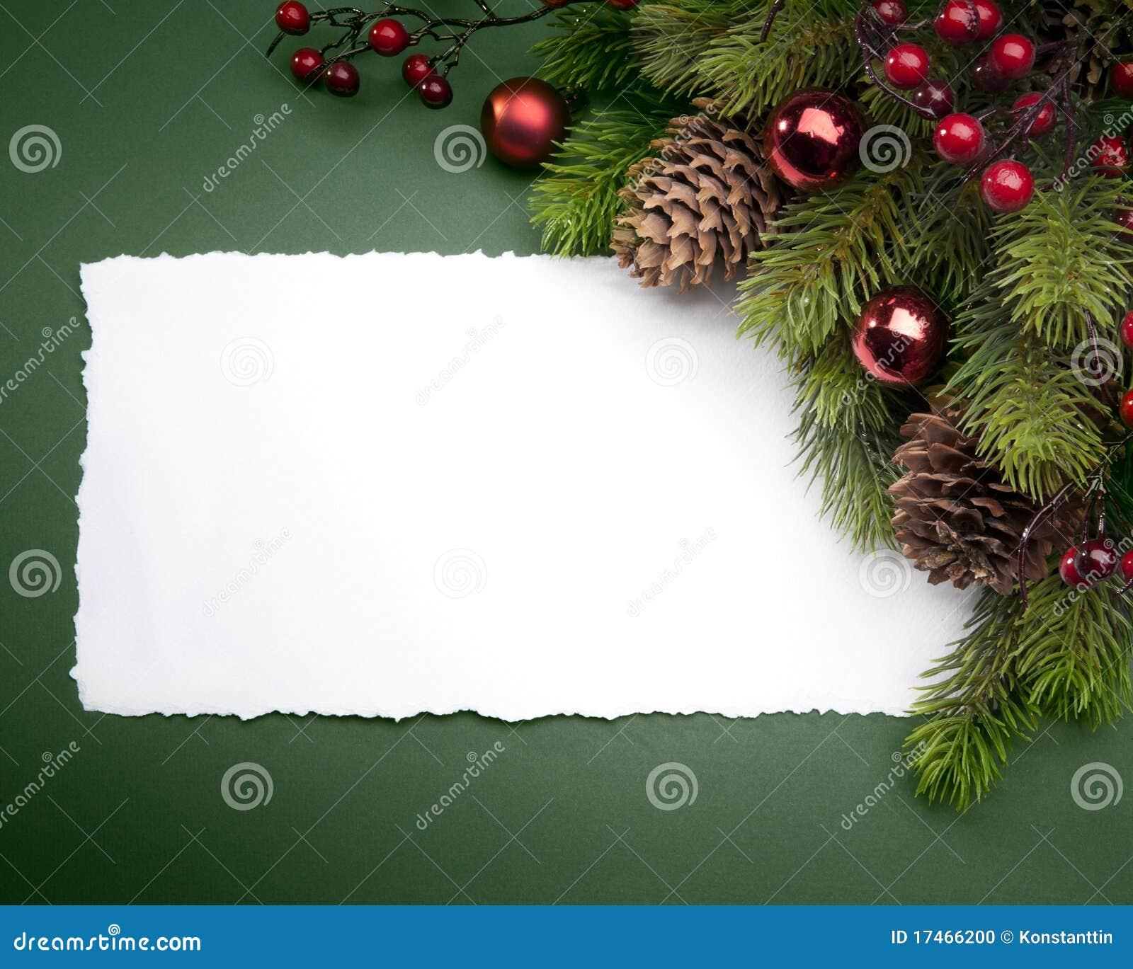 Carte de voeux de Noël d art