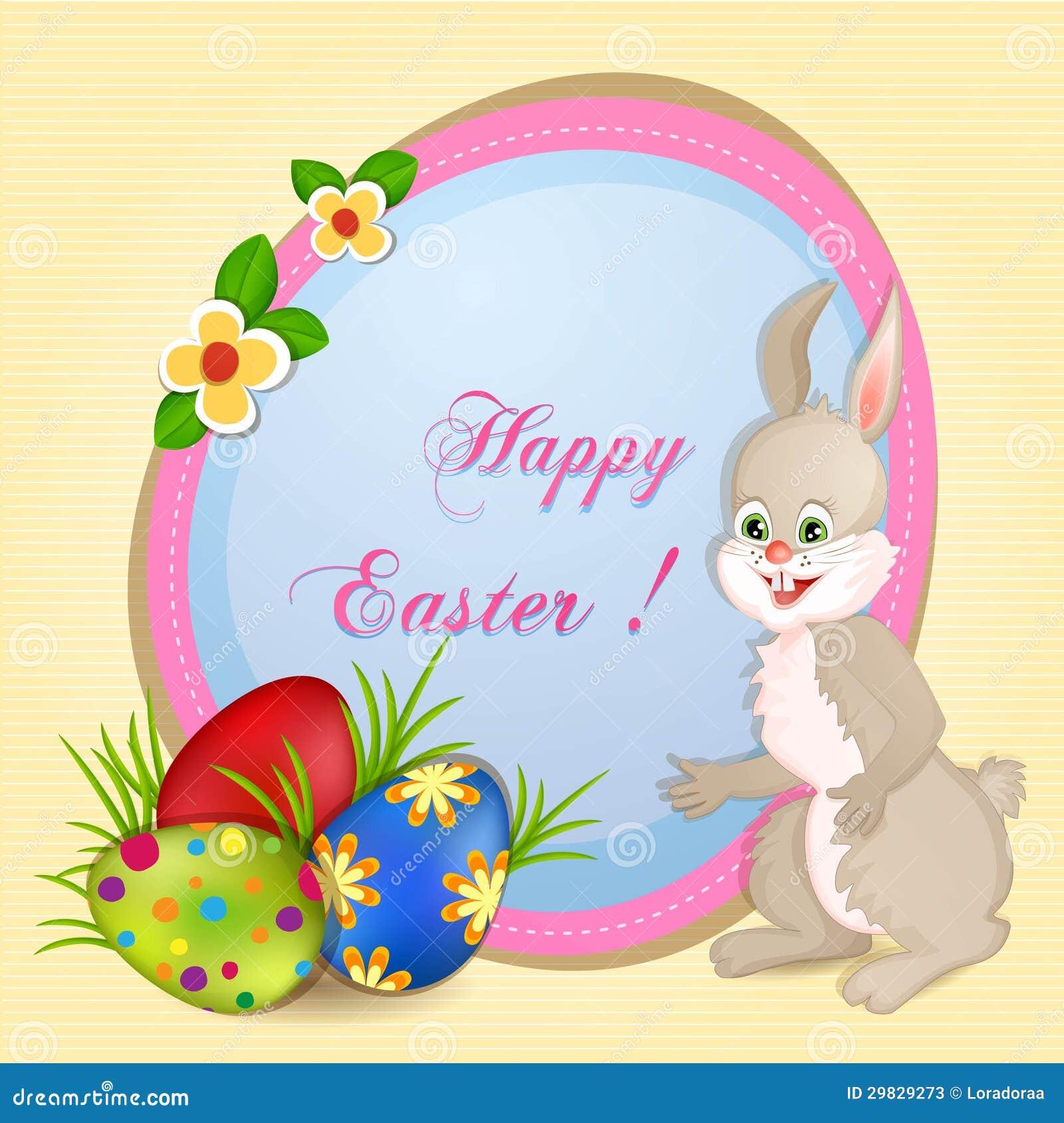 Carte de voeux de Pâques