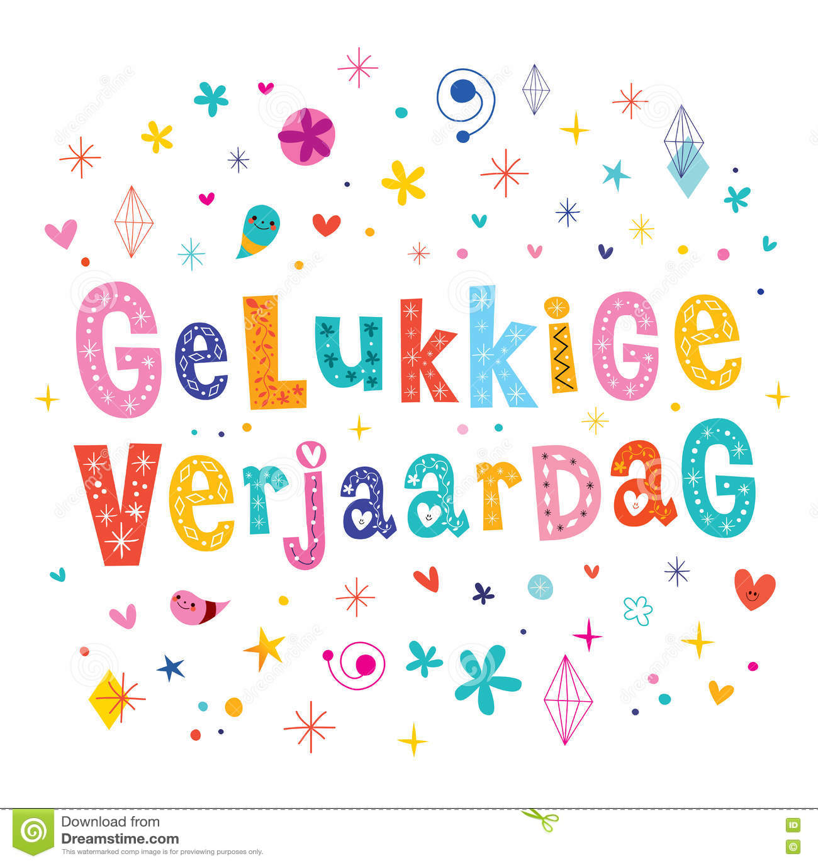 message anniversaire neerlandais